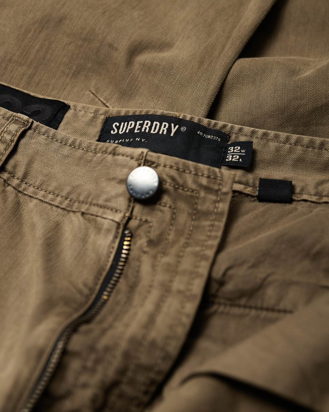 Superdry Mens Surplus Goods Chino Trousers Brown Chino Pants 3
