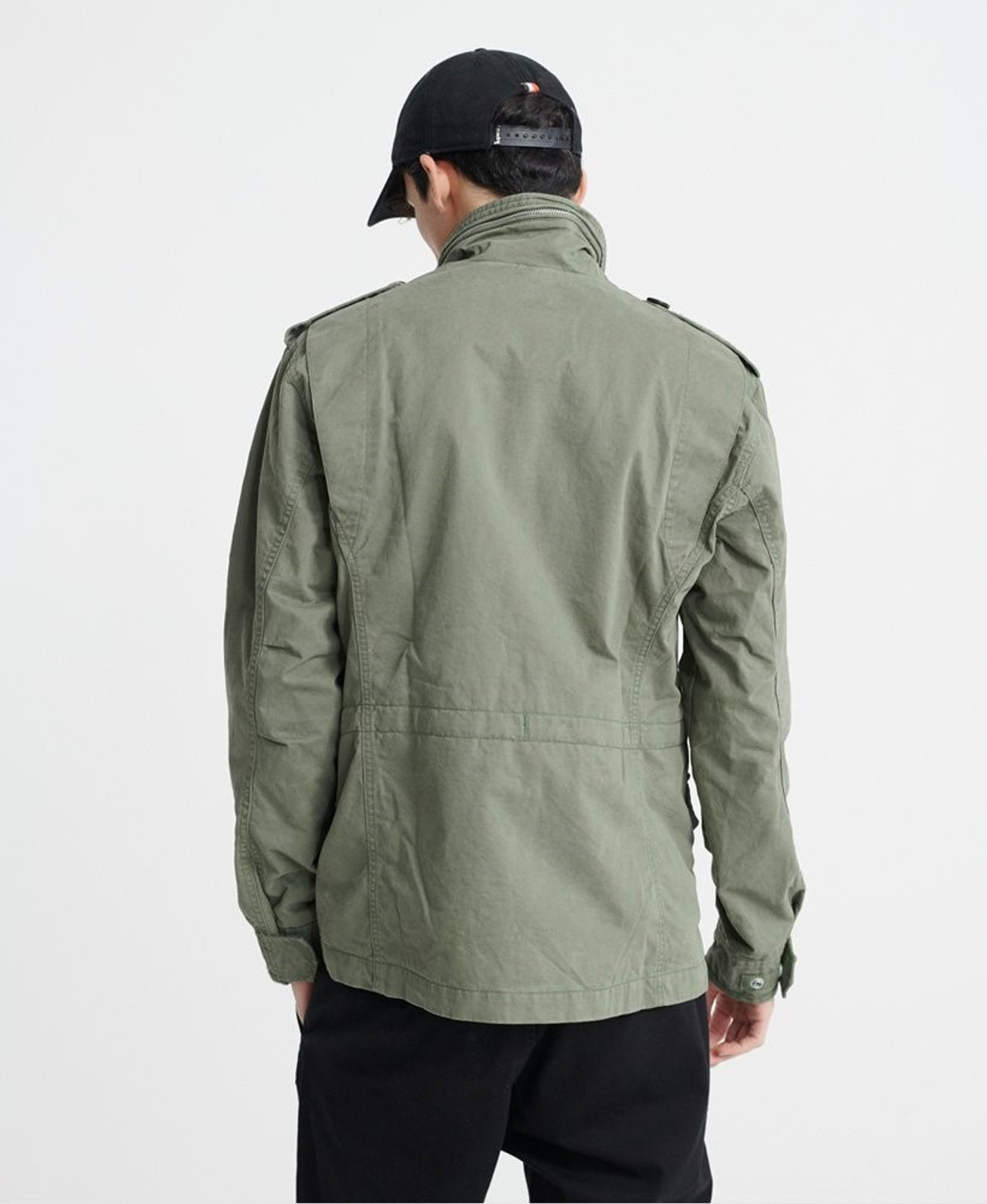 Superdry Mens FIELD JACKET Green Military Jackets 3