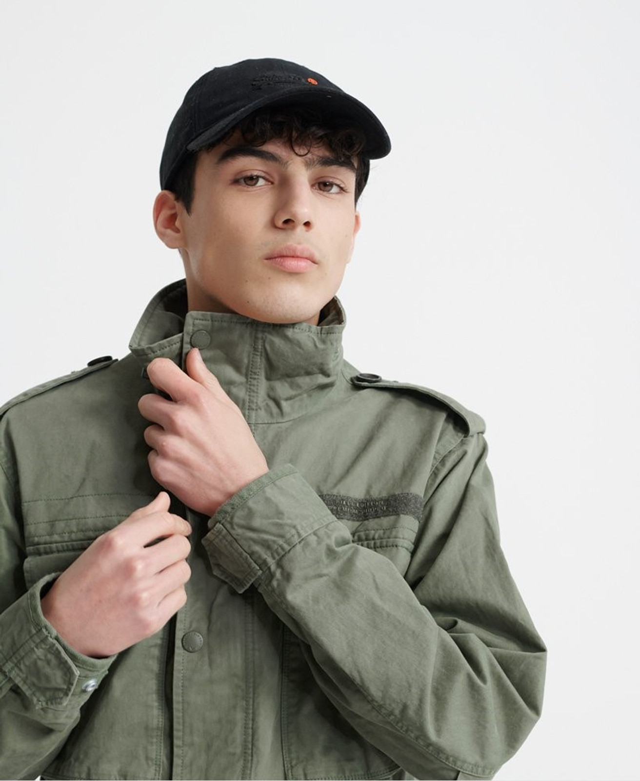 Superdry Mens FIELD JACKET Green Military Jackets 4