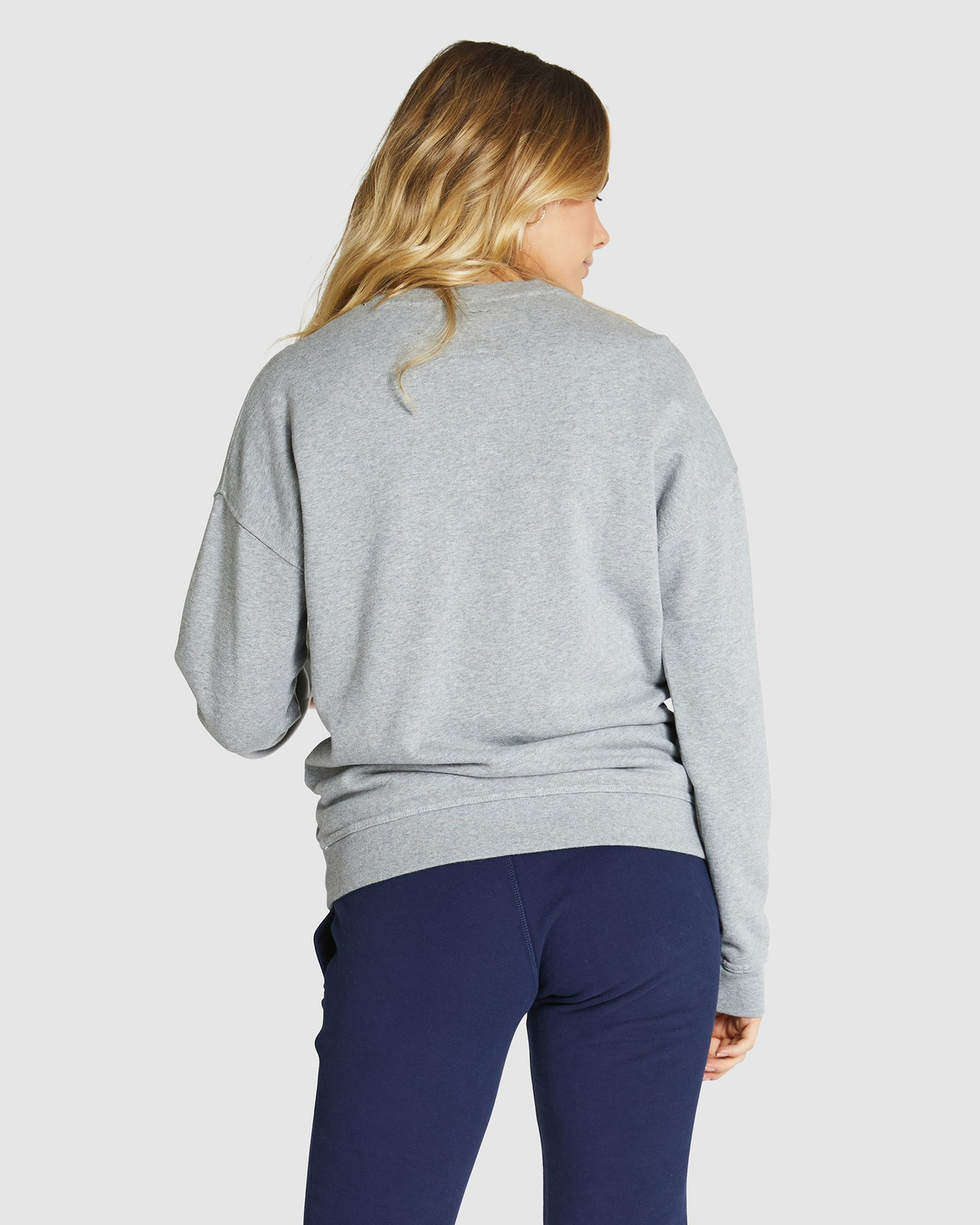Superdry Womens SUPERSTATE SWEAT Grey Sweat Tops 2
