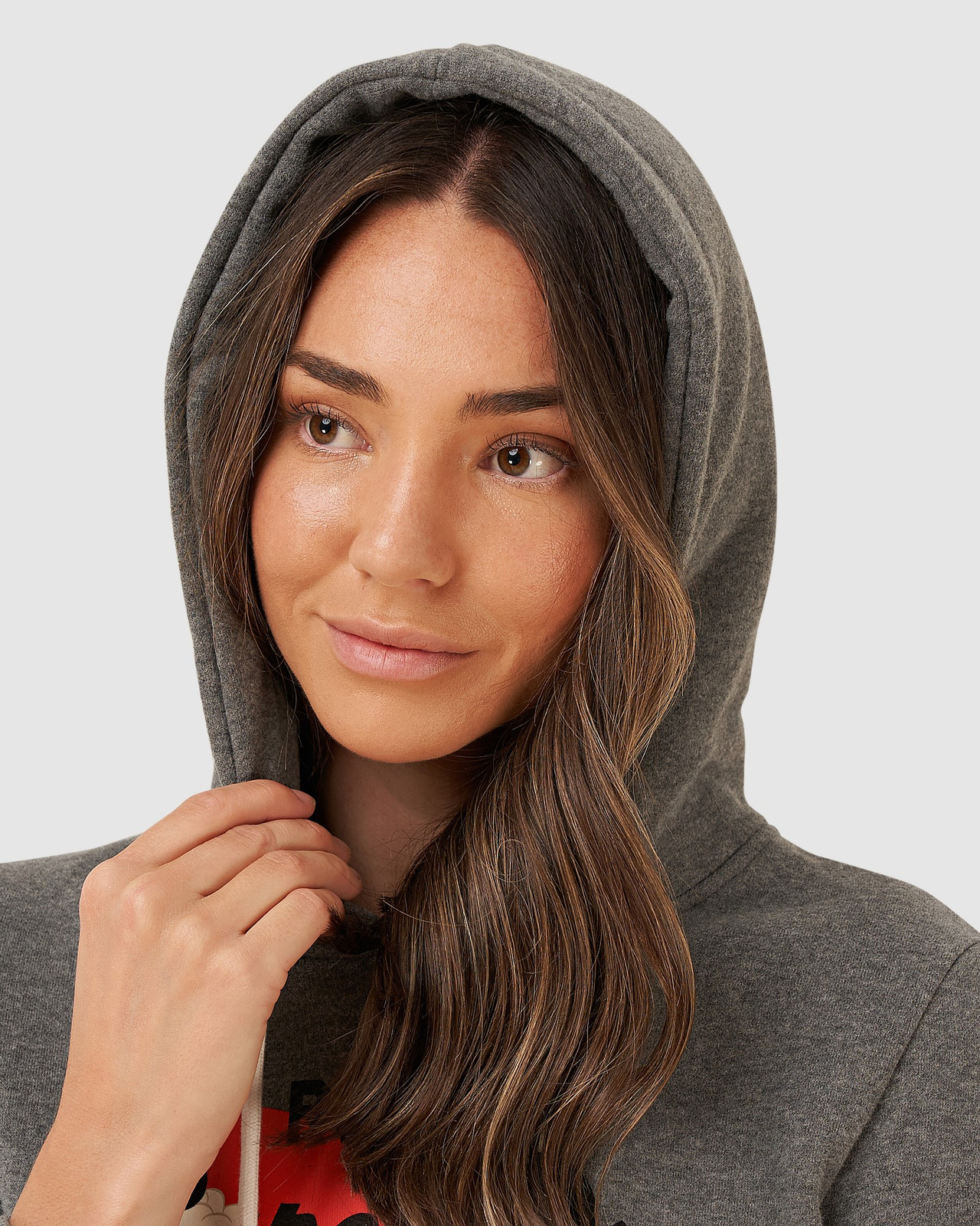 Superdry Womens VL RISING SUN HOOD BR Brown Overhead Hoodie 4