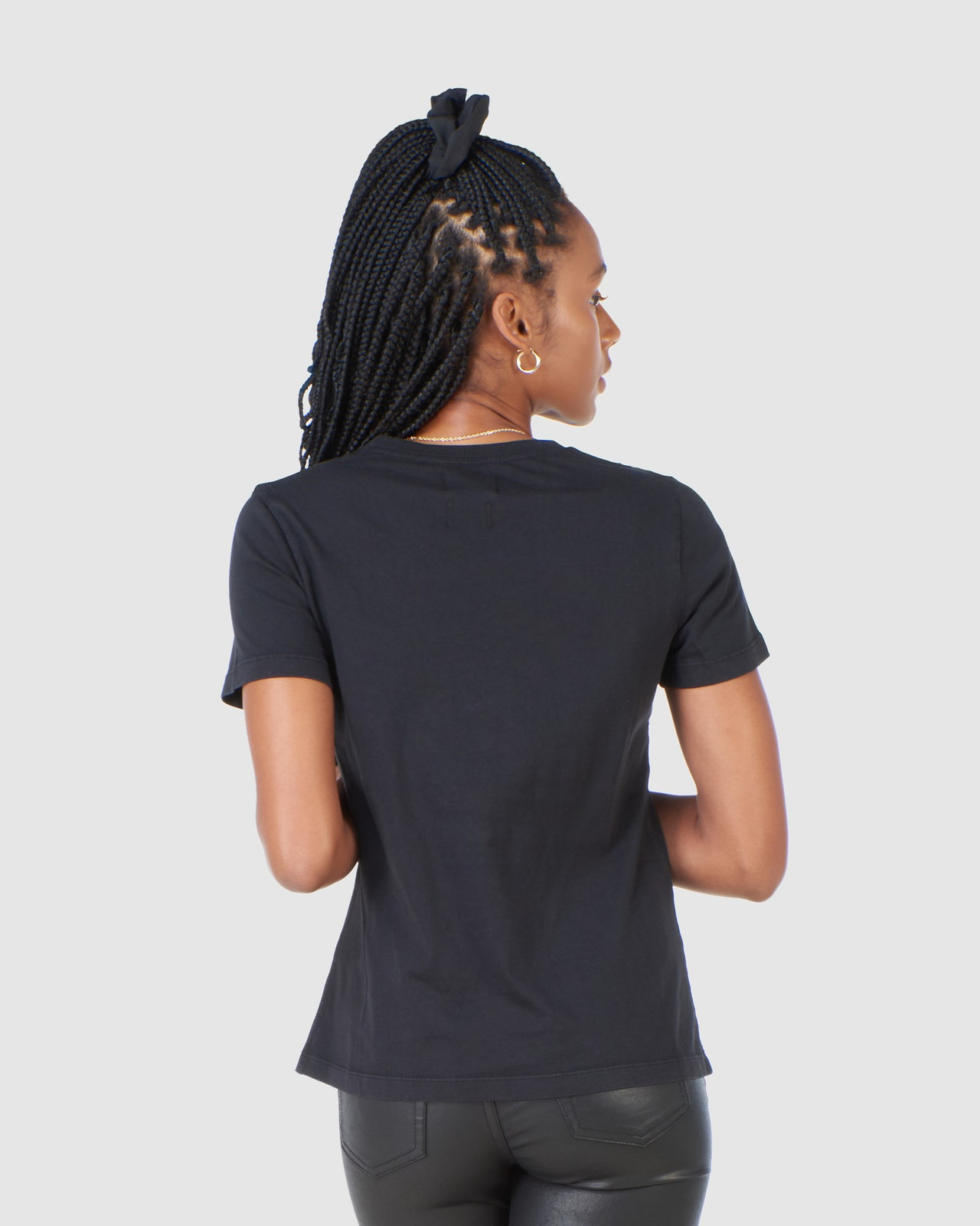 Superdry Womens COPPER LABEL TEE Black Printed T Shirts 3