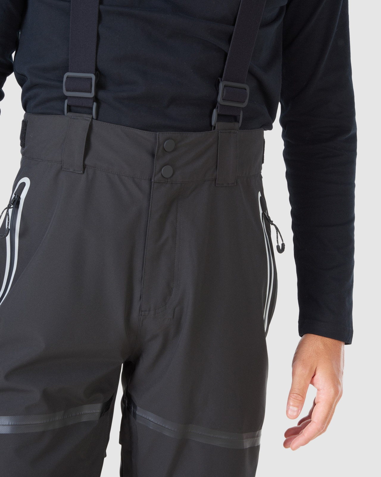 Superdry Mens EXPEDITION SHELL PANT Black Snow Pants 11