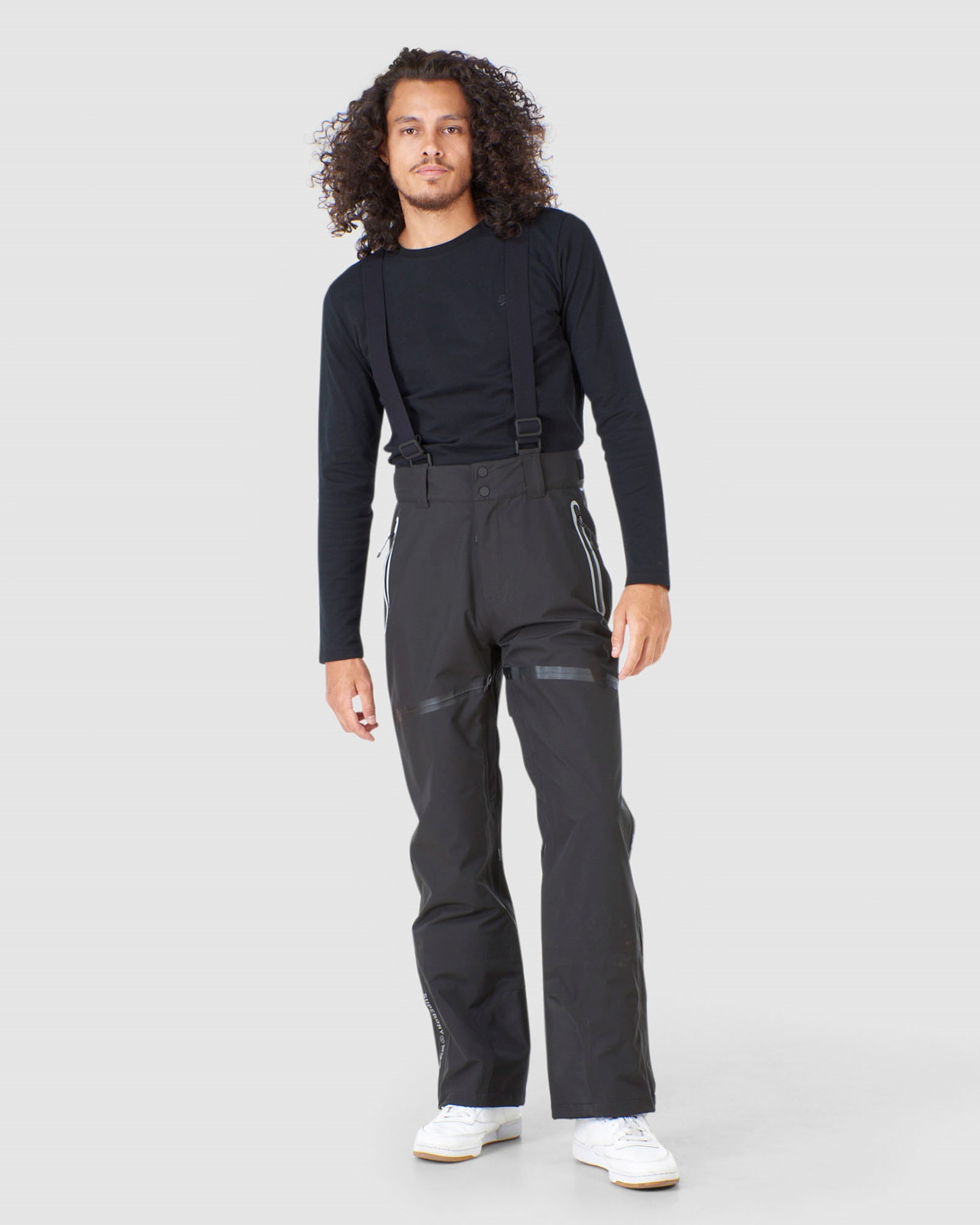 Superdry Mens EXPEDITION SHELL PANT Black Snow Pants 1