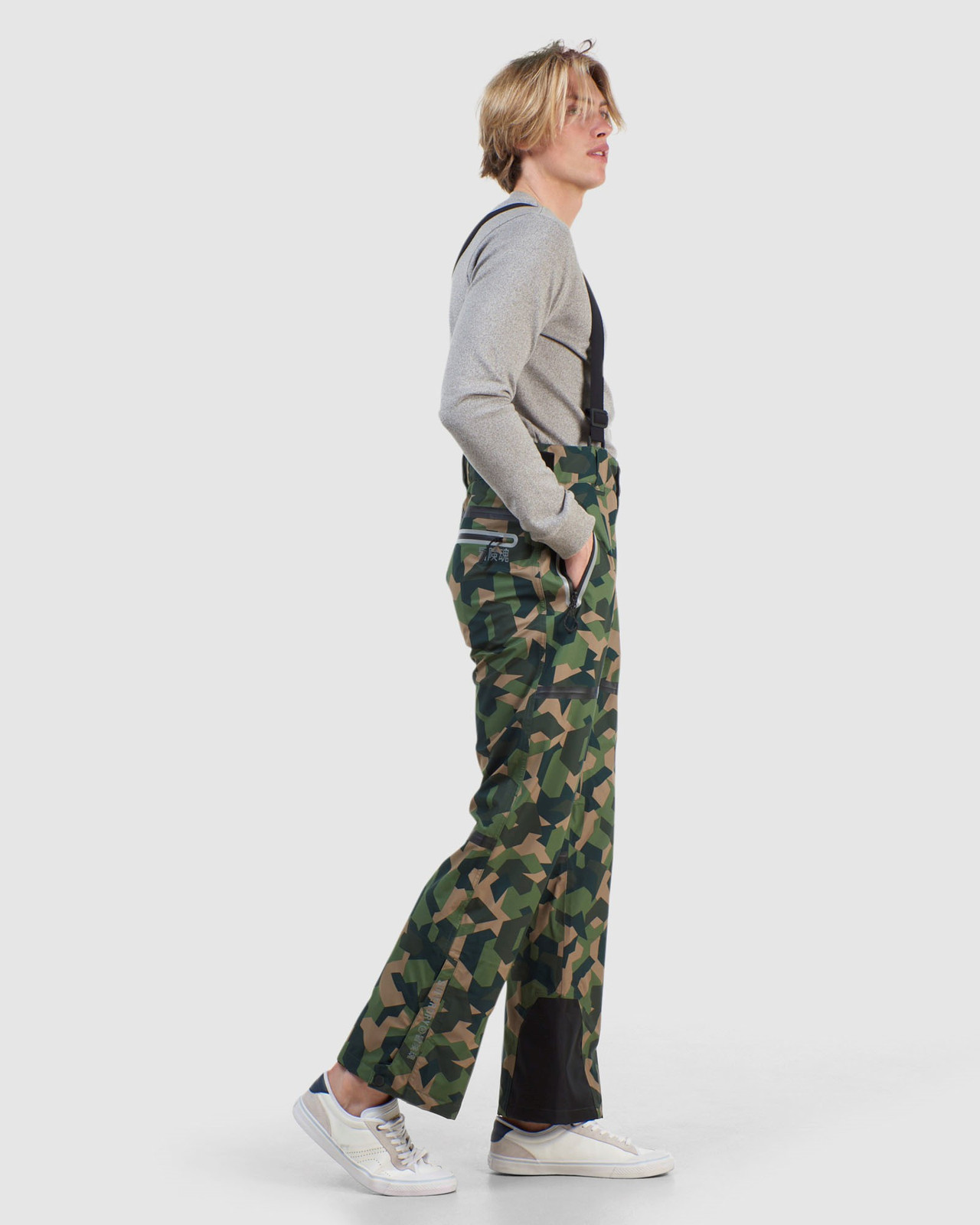 Superdry Mens EXPEDITION SHELL PANT Green Snow Pants 5