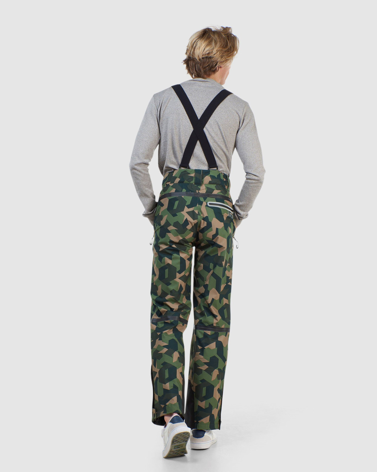 Superdry Mens EXPEDITION SHELL PANT Green Snow Pants 7