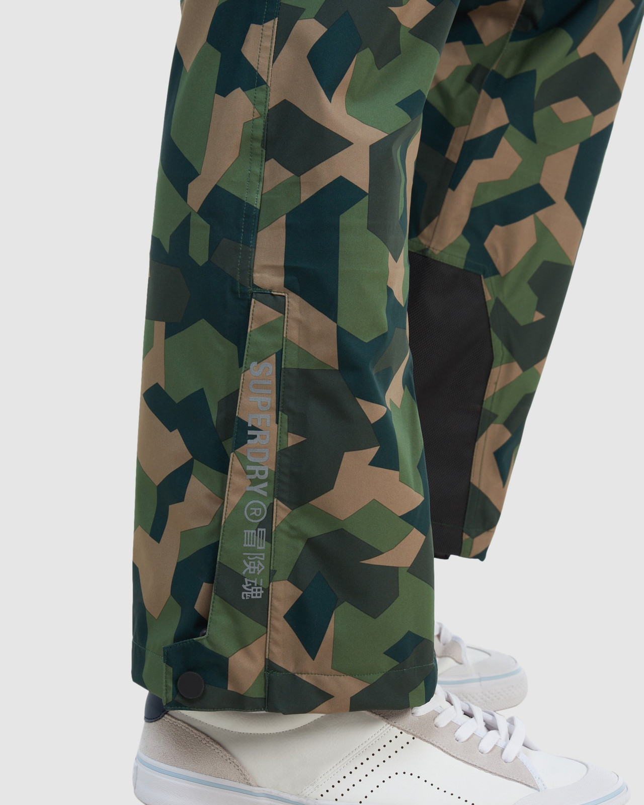 Superdry Mens EXPEDITION SHELL PANT Green Snow Pants 11