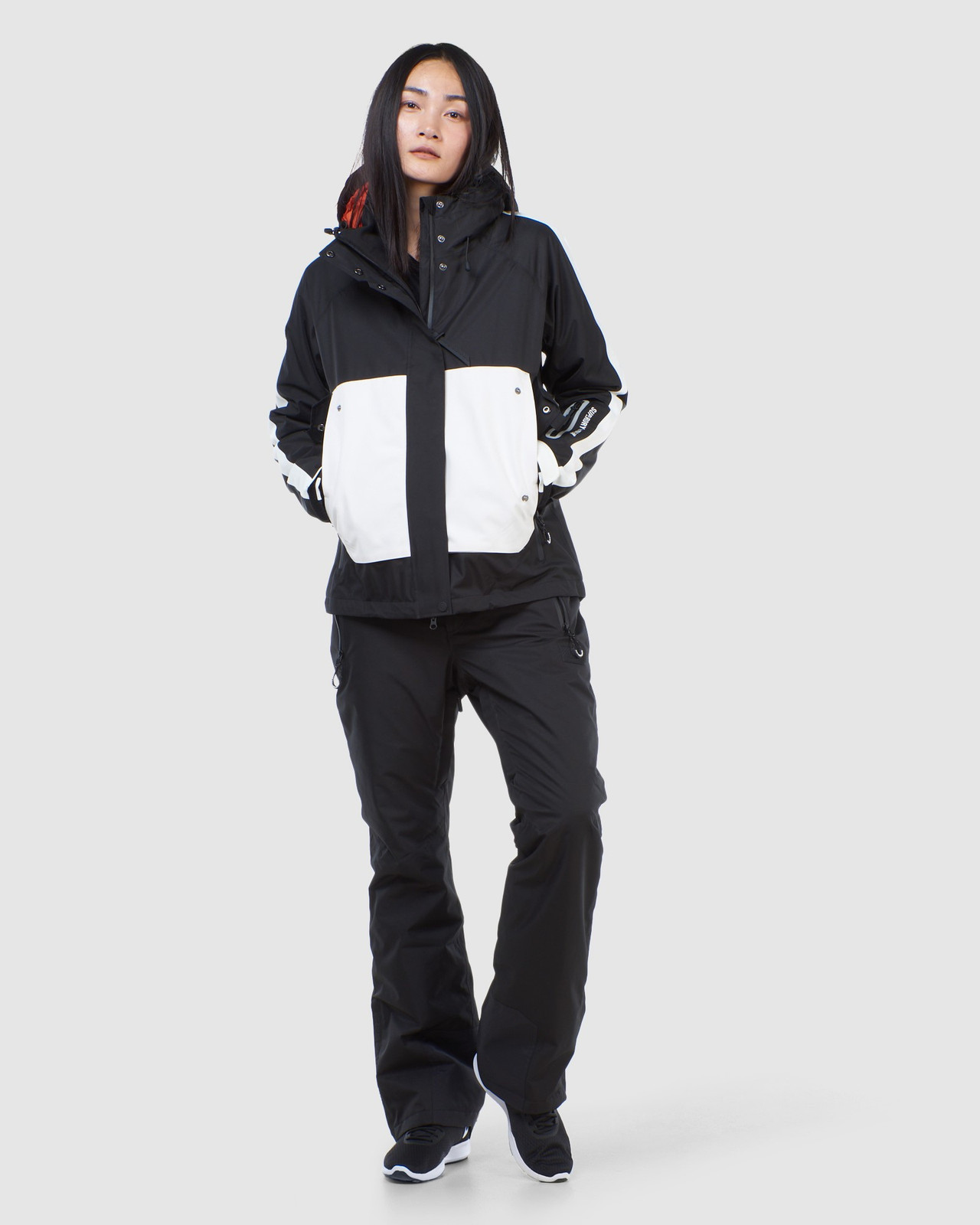 Superdry Womens FREESTYLE ATTACK JACKET Black Snow Jackets 1