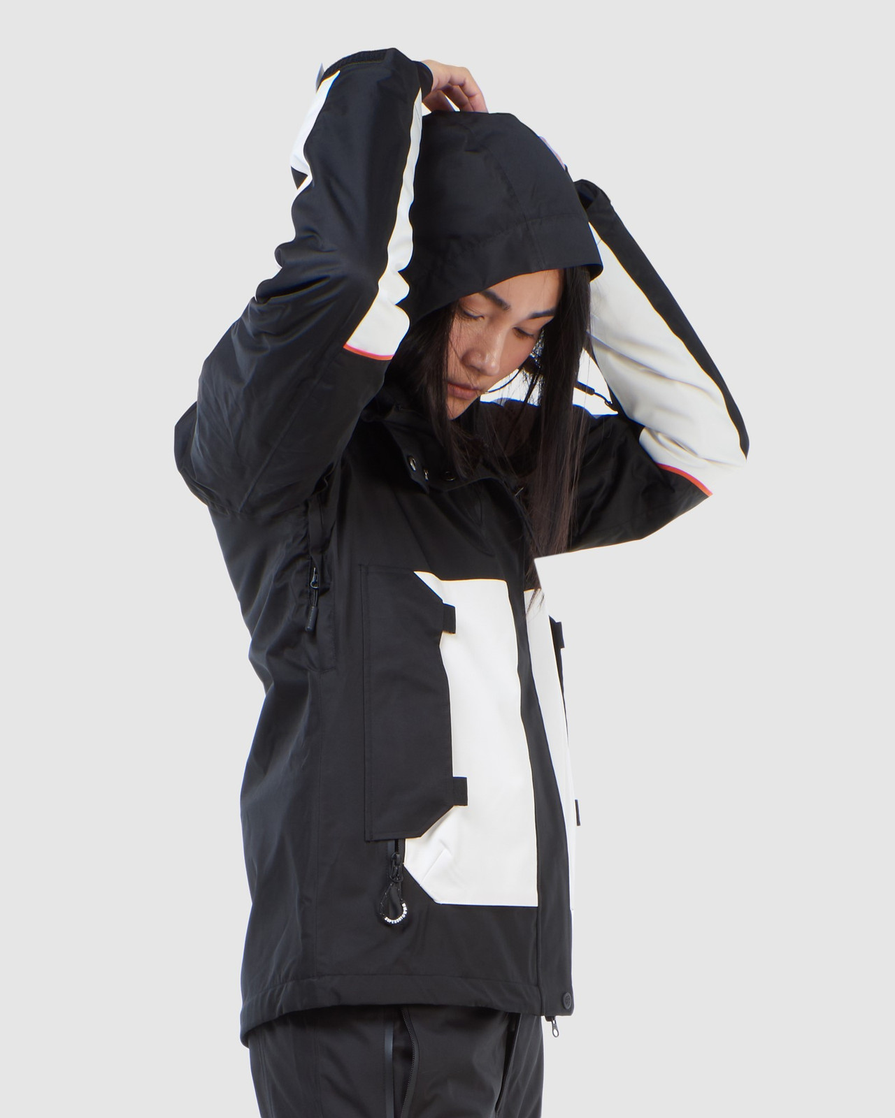 Superdry Womens FREESTYLE ATTACK JACKET Black Snow Jackets 3
