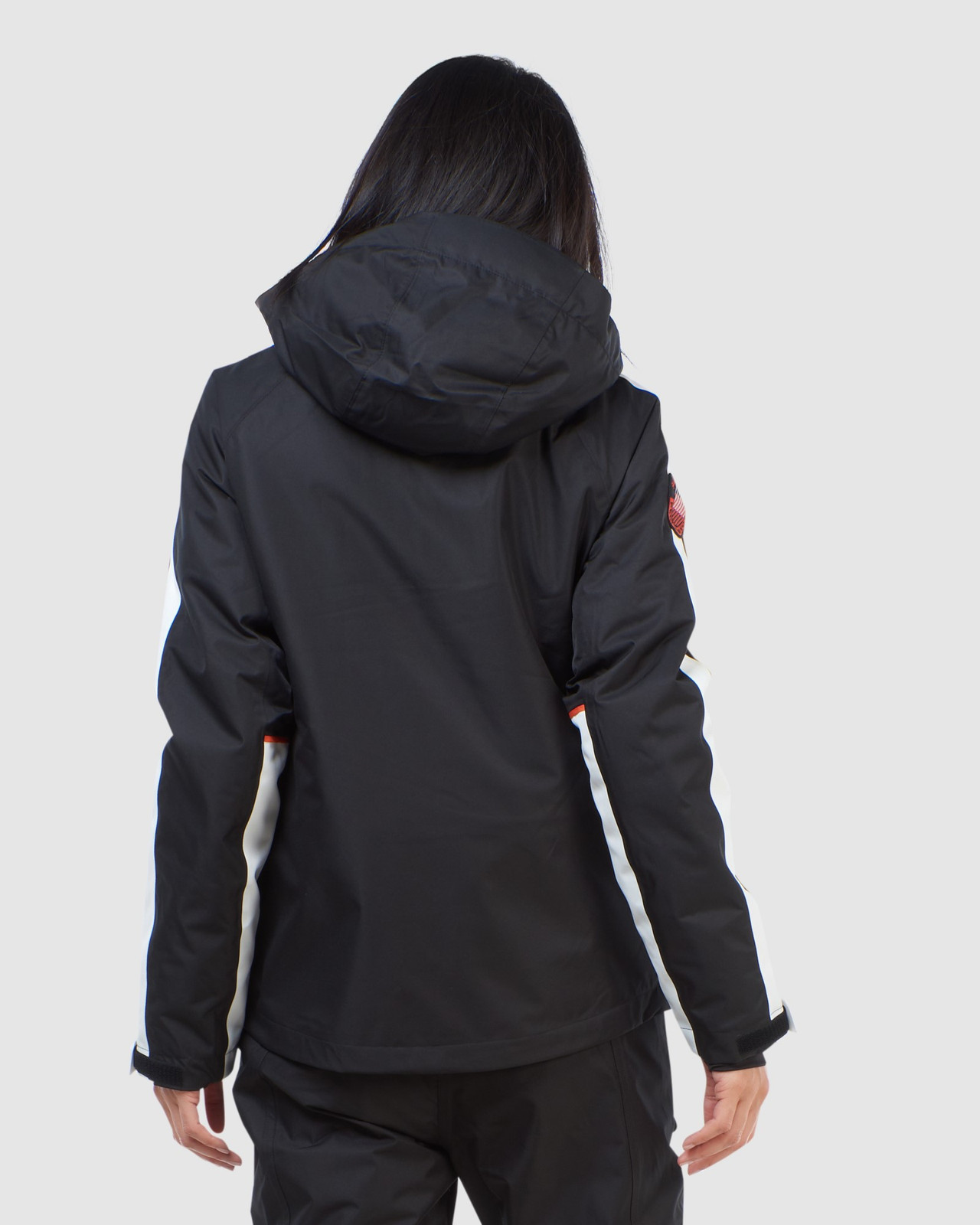 Superdry Womens FREESTYLE ATTACK JACKET Black Snow Jackets 4