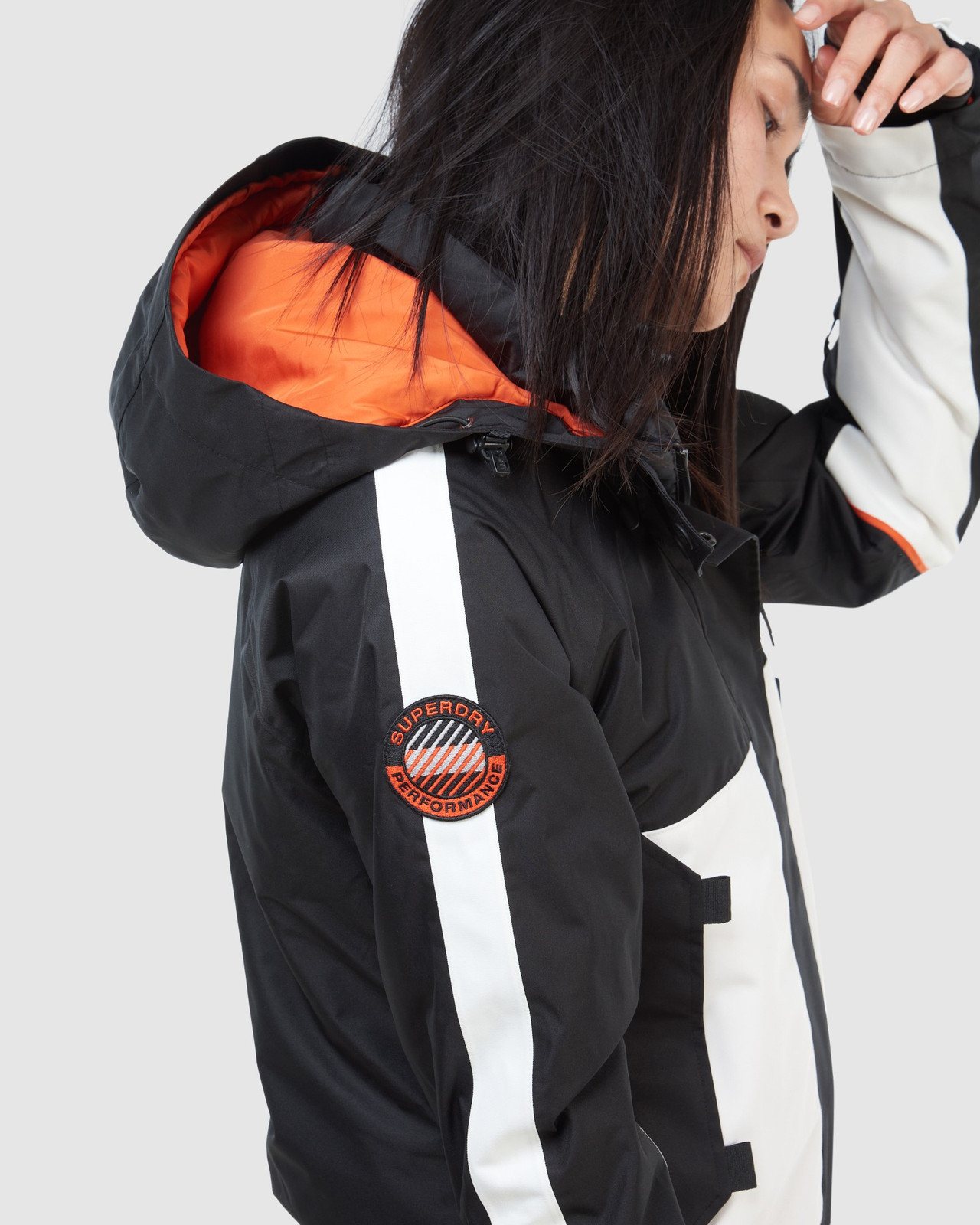 Superdry Womens FREESTYLE ATTACK JACKET Black Snow Jackets 7