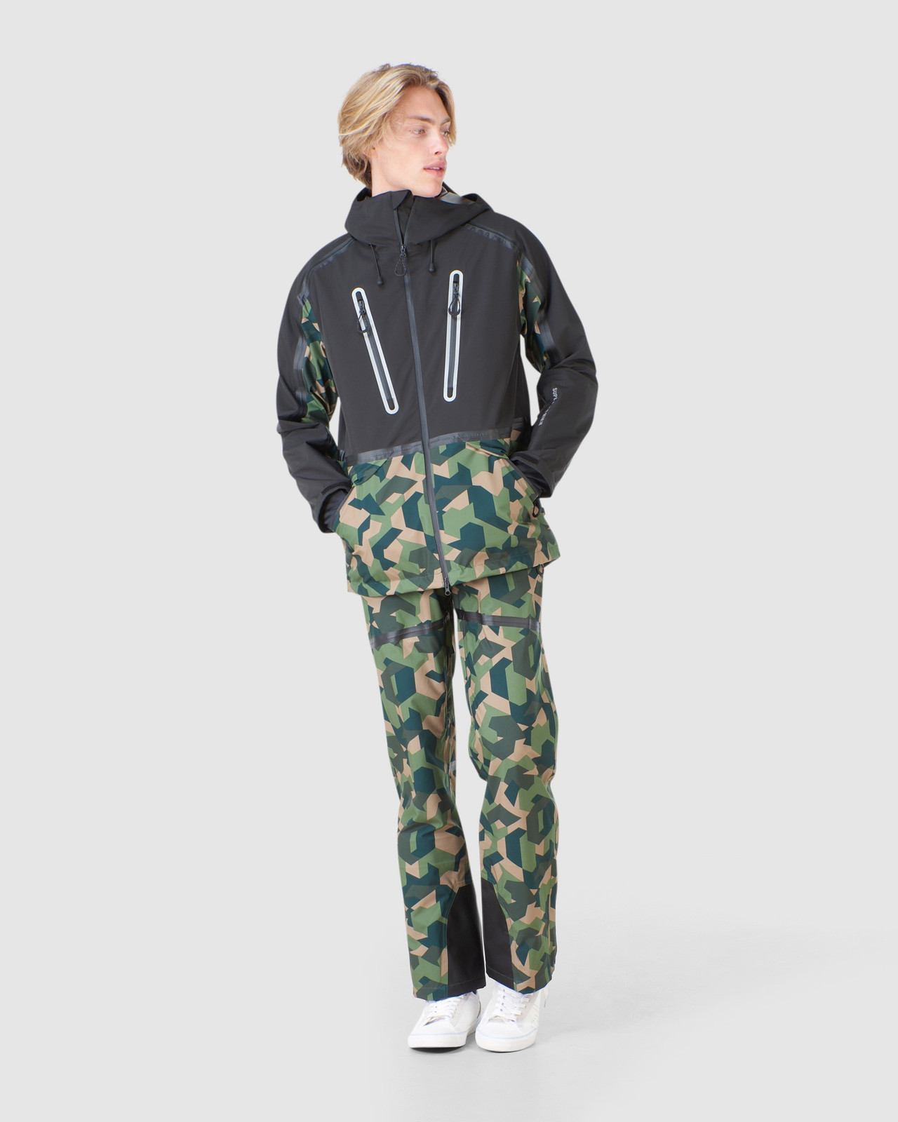 Superdry Mens EXPEDITION SHELL JACKET Green Snow Jackets 3
