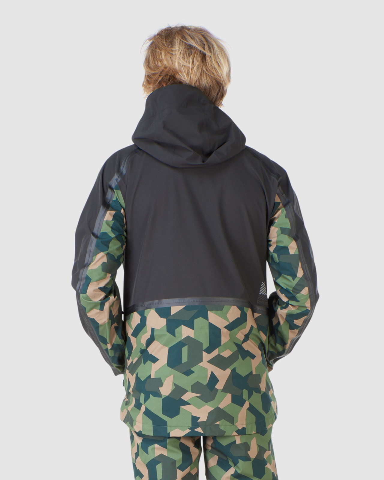 Superdry Mens EXPEDITION SHELL JACKET Green Snow Jackets 7