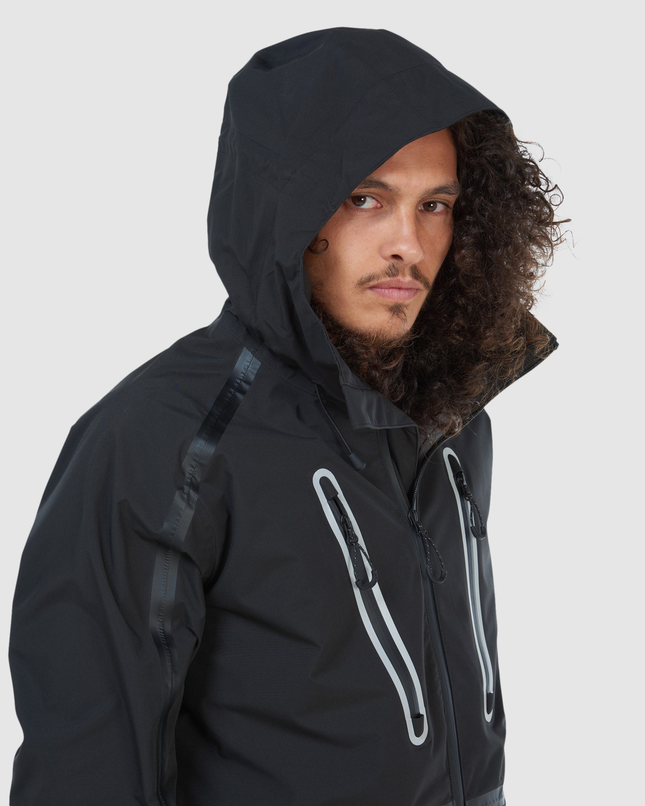 Superdry Mens EXPEDITION SHELL JACKET Black Snow Jackets 17