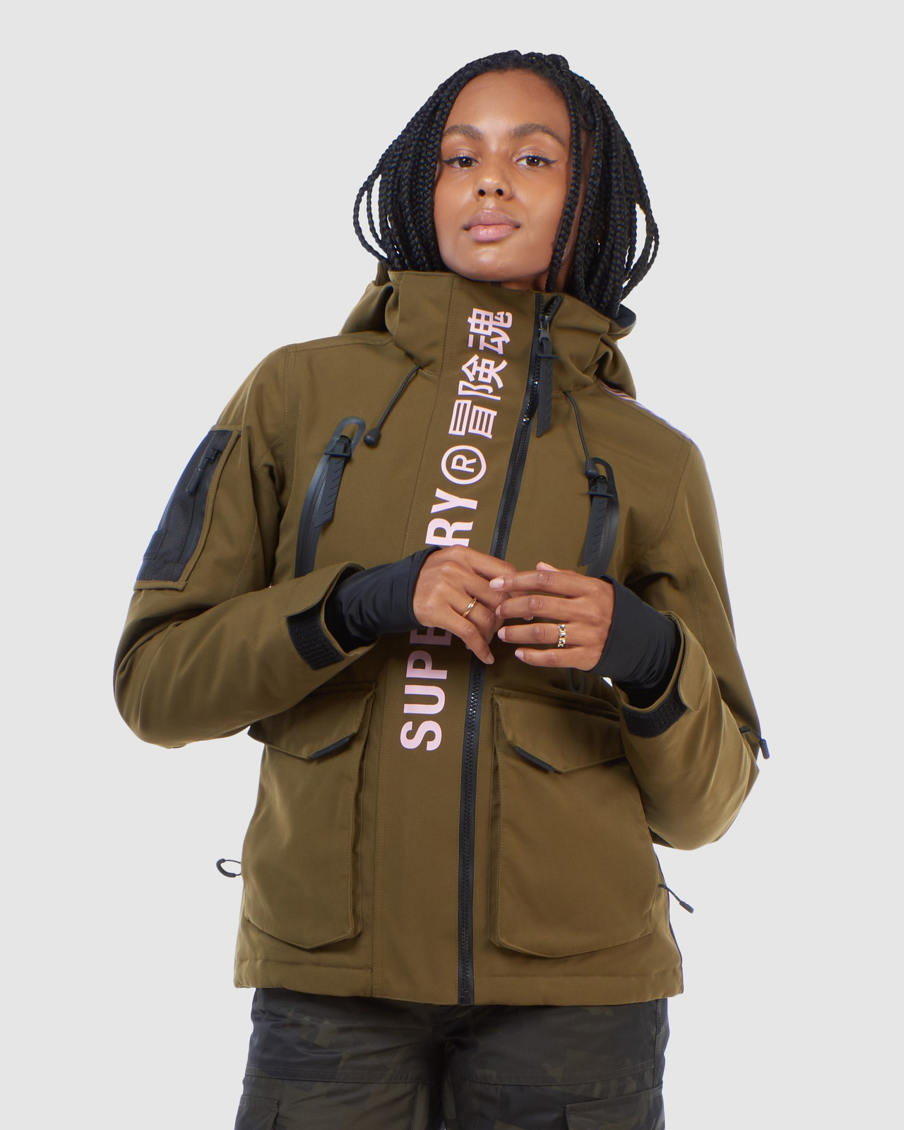 Ultimate Rescue Jacket Dusty Olive By Superdry Australia