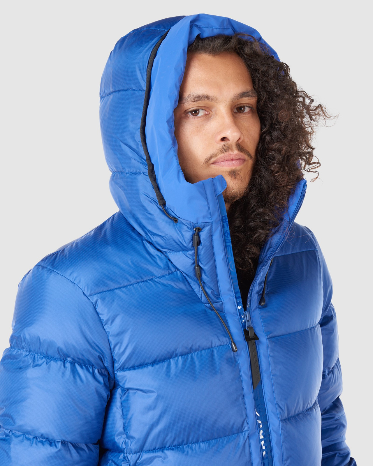 Superdry Mens MOUNTAIN PRO RACER PUFFER Blue Green Snow Jackets 7