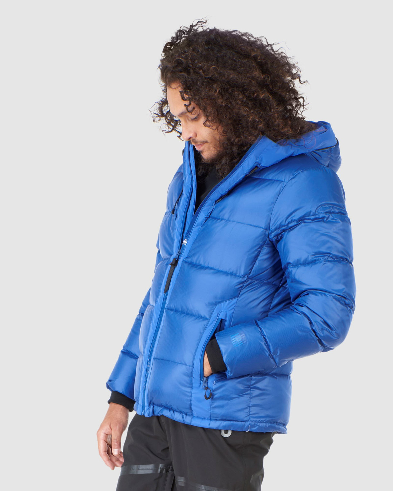 Superdry Mens MOUNTAIN PRO RACER PUFFER Blue Green Snow Jackets 2