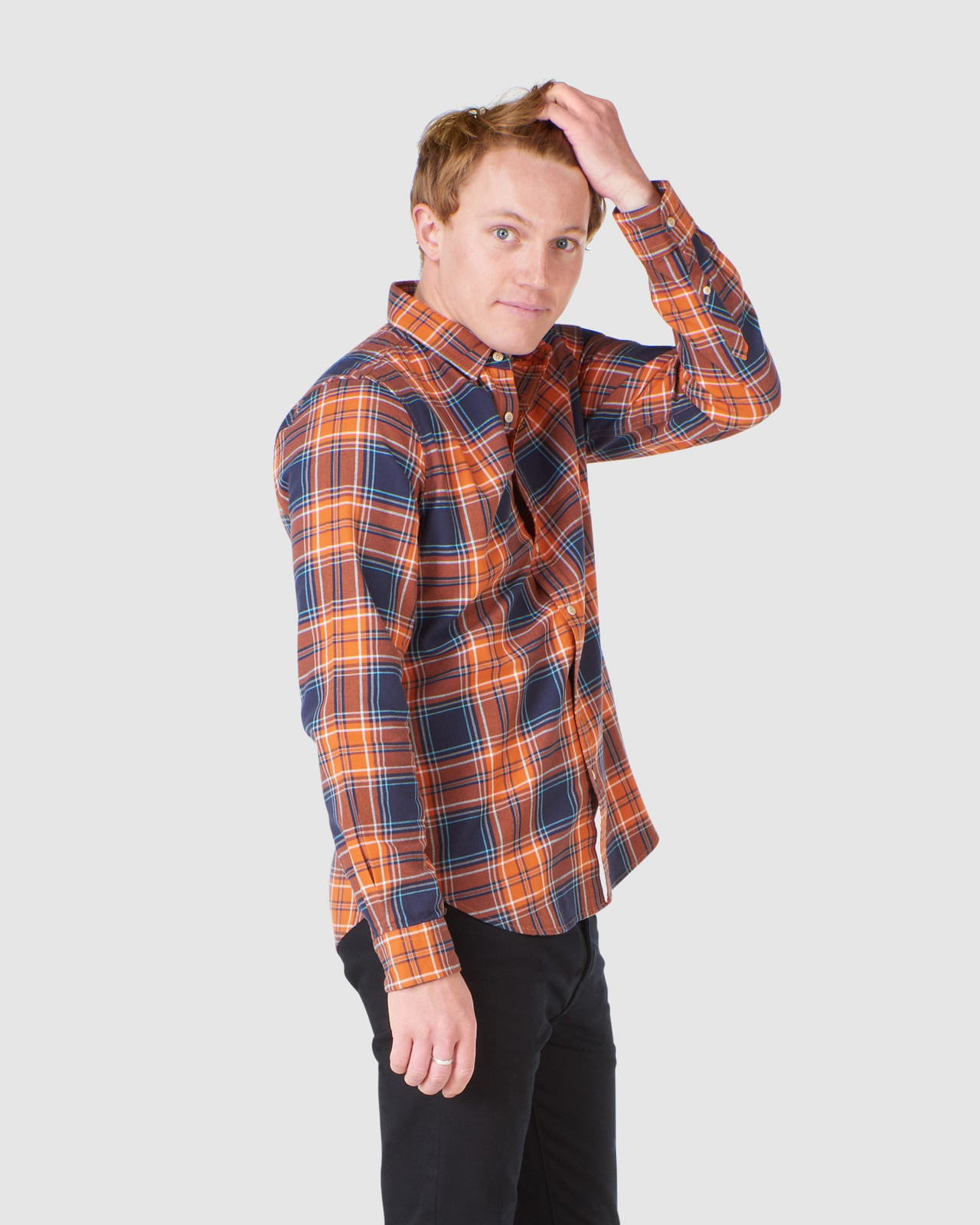 Superdry Mens WORKWEAR SHIRT Neutrals Check Shirts 2