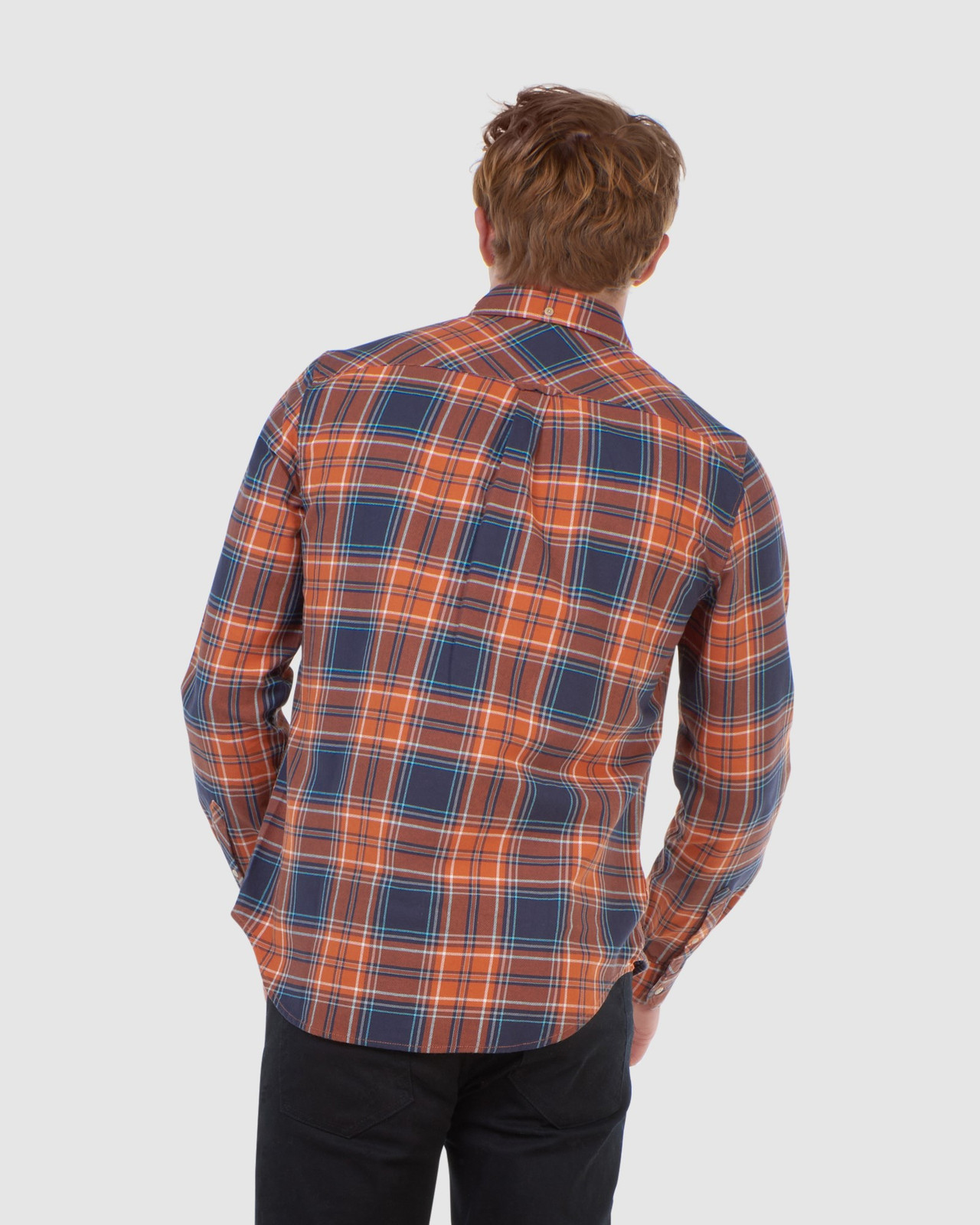 Superdry Mens WORKWEAR SHIRT Neutrals Check Shirts 3