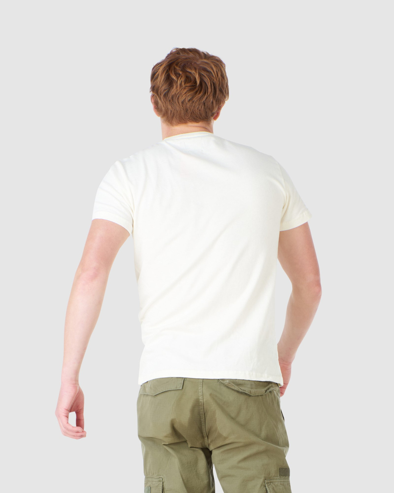 Superdry Mens CL CANVAS TEE Neutrals Printed T Shirts 3
