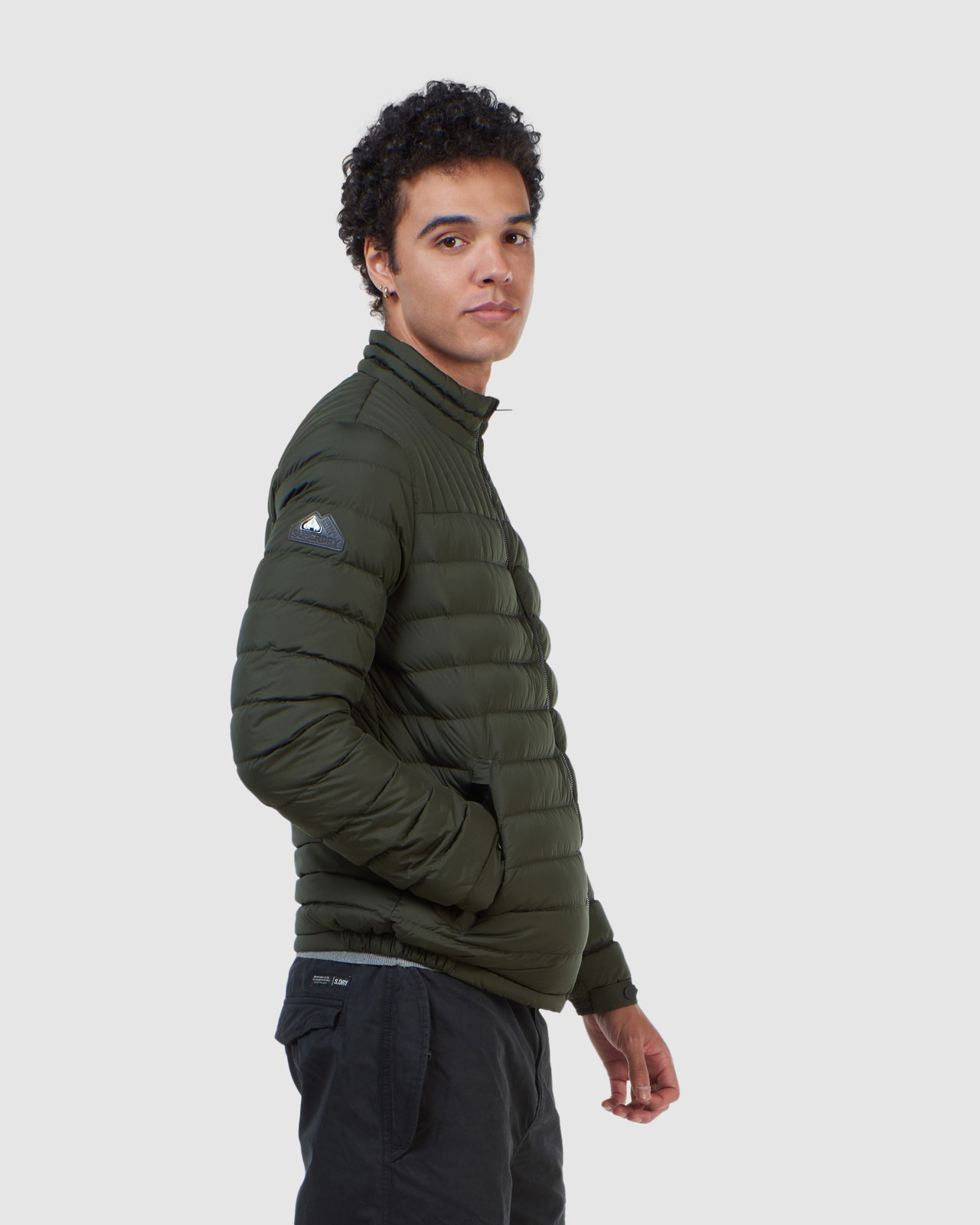 Superdry Mens ULTIMATE CORE DOWN Green Down Jackets 5