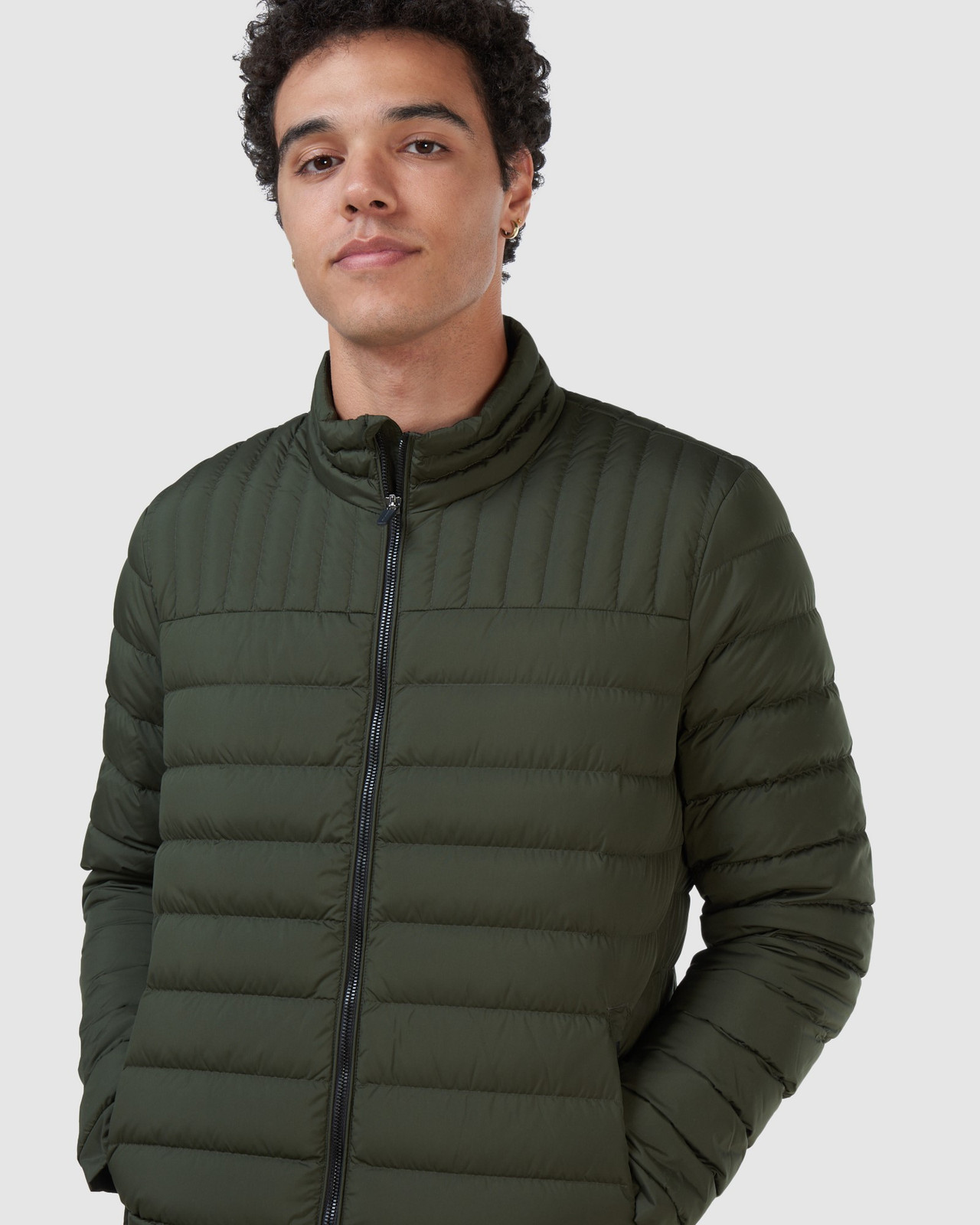 Superdry Mens ULTIMATE CORE DOWN Green Down Jackets 9