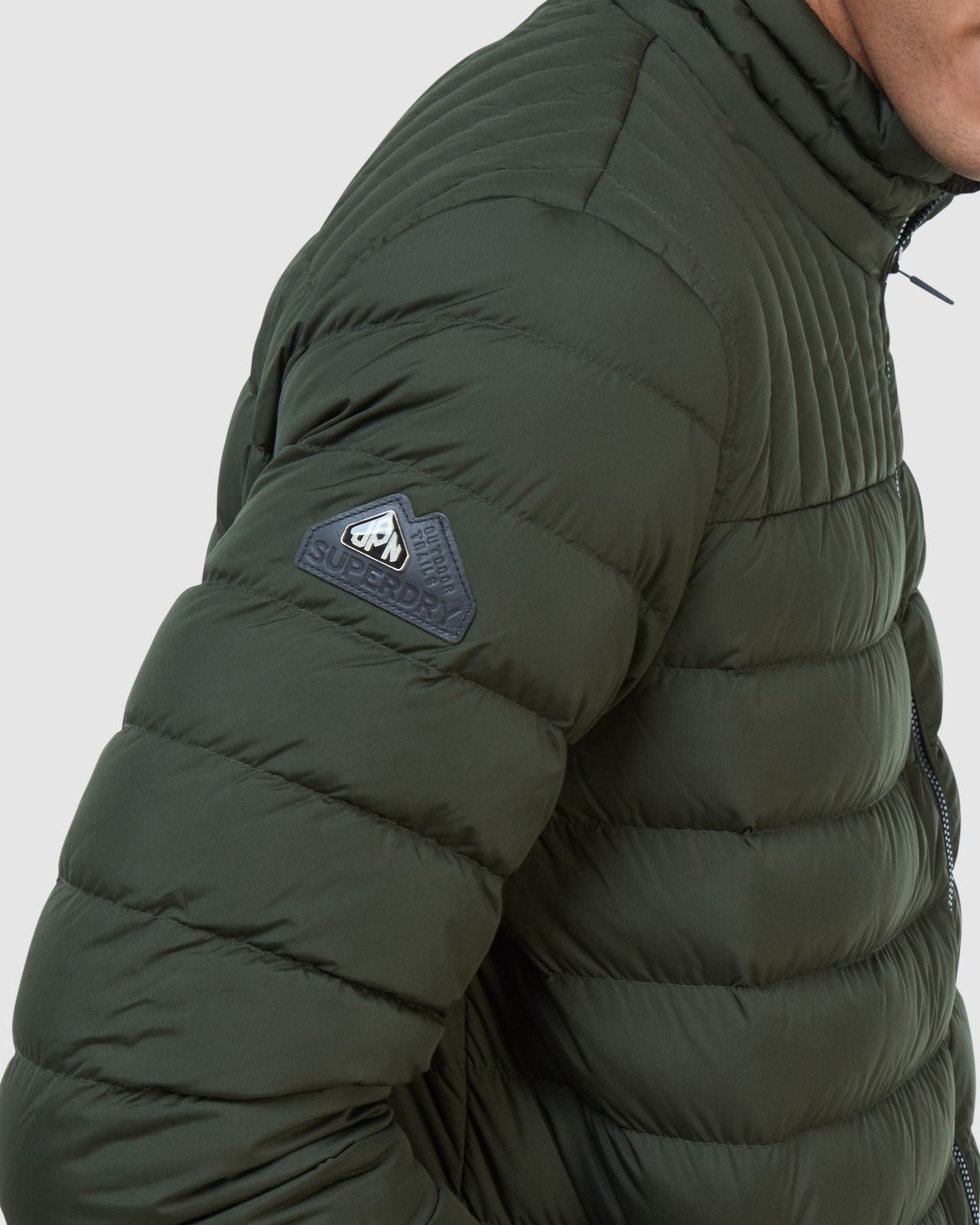 Superdry Mens ULTIMATE CORE DOWN Green Down Jackets 13