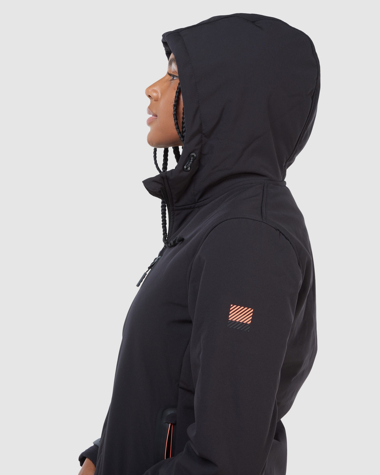 Superdry Womens ARCTIC SOFT SHELL JACKET Black Windcheaters 6