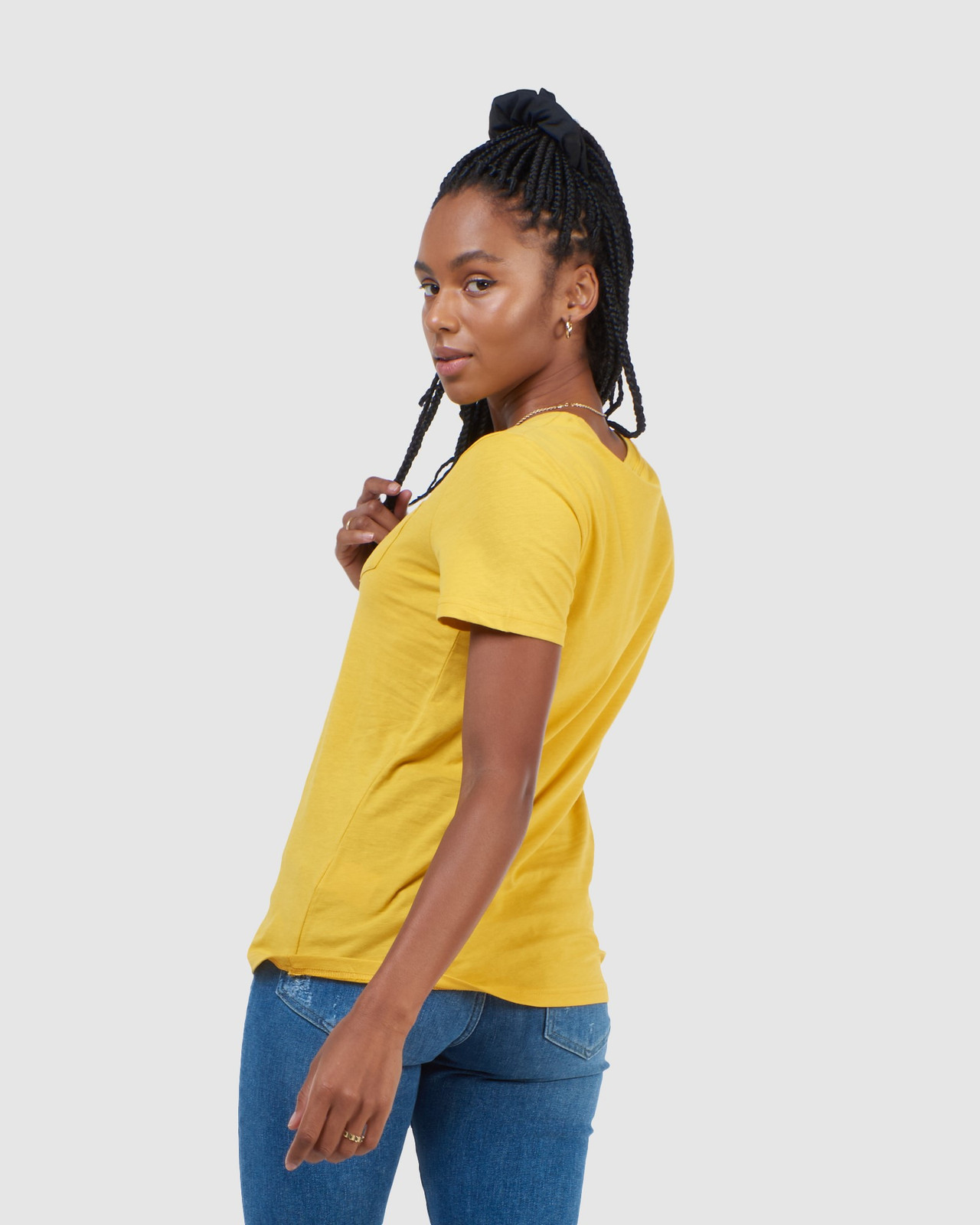 Superdry Womens CL PATINA TEE Yellow Printed T Shirts 3