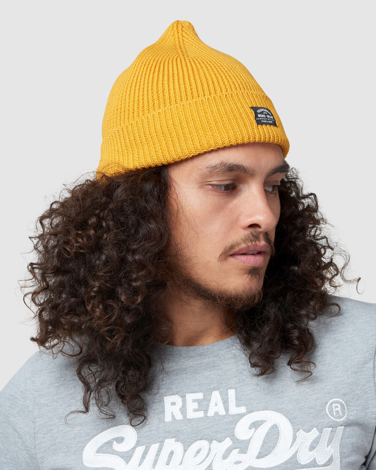 Superdry UnisexAdult STORM BEANIE Gold Hats 2