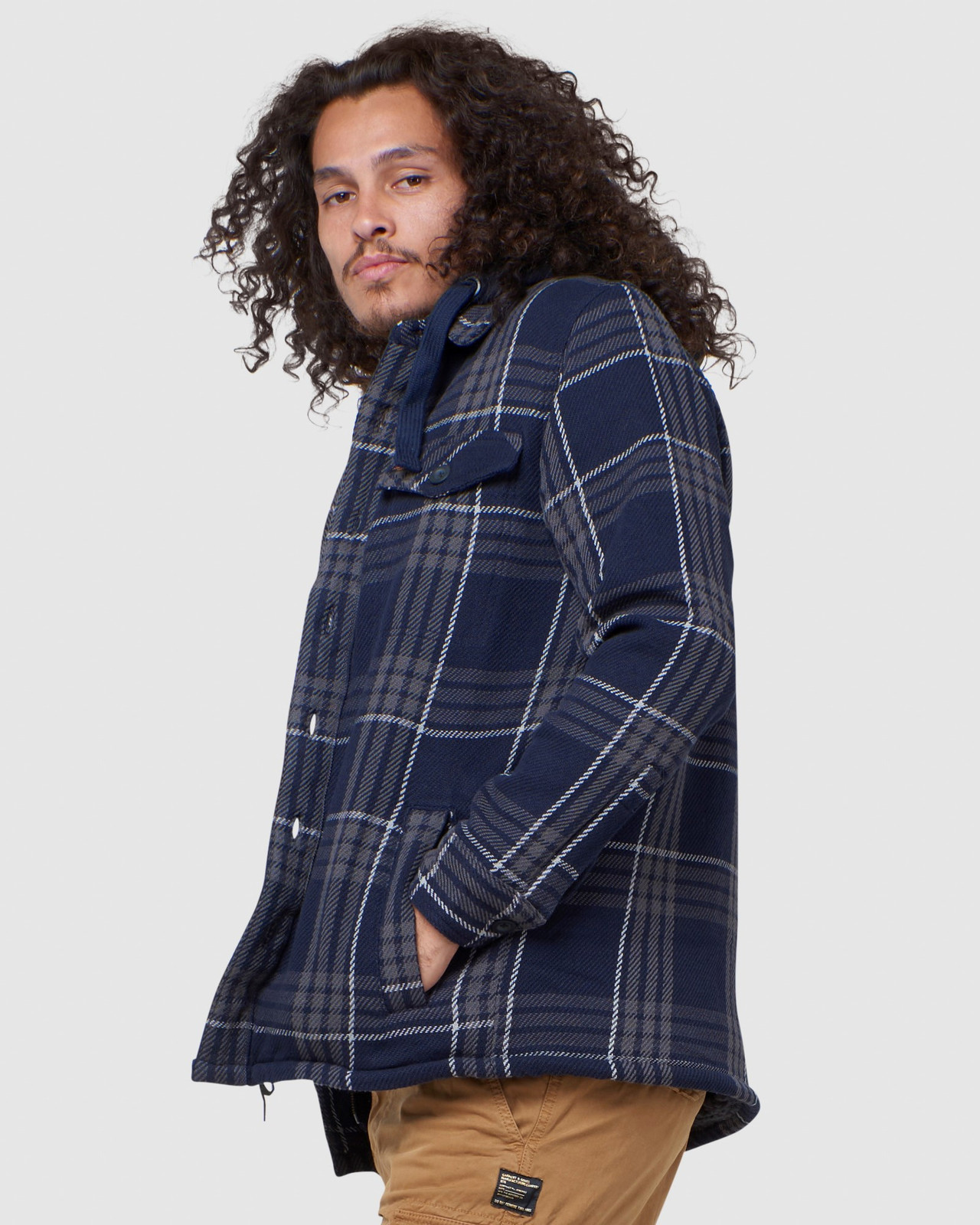 Superdry Mens EXPEDITION HOOD Navy Casual Jackets 2