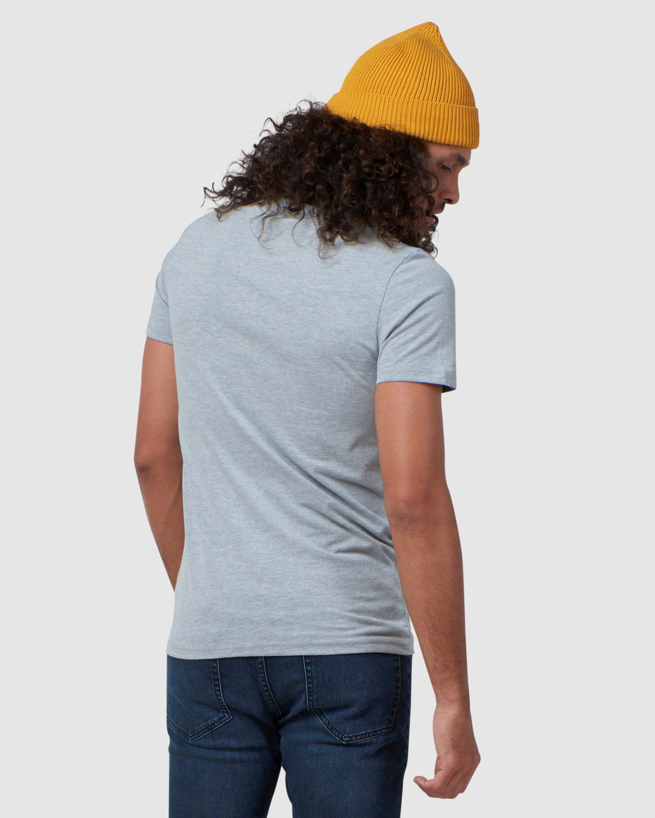 Superdry Mens Vintage Logo Embroidery Tee Grey Printed T Shirts 3