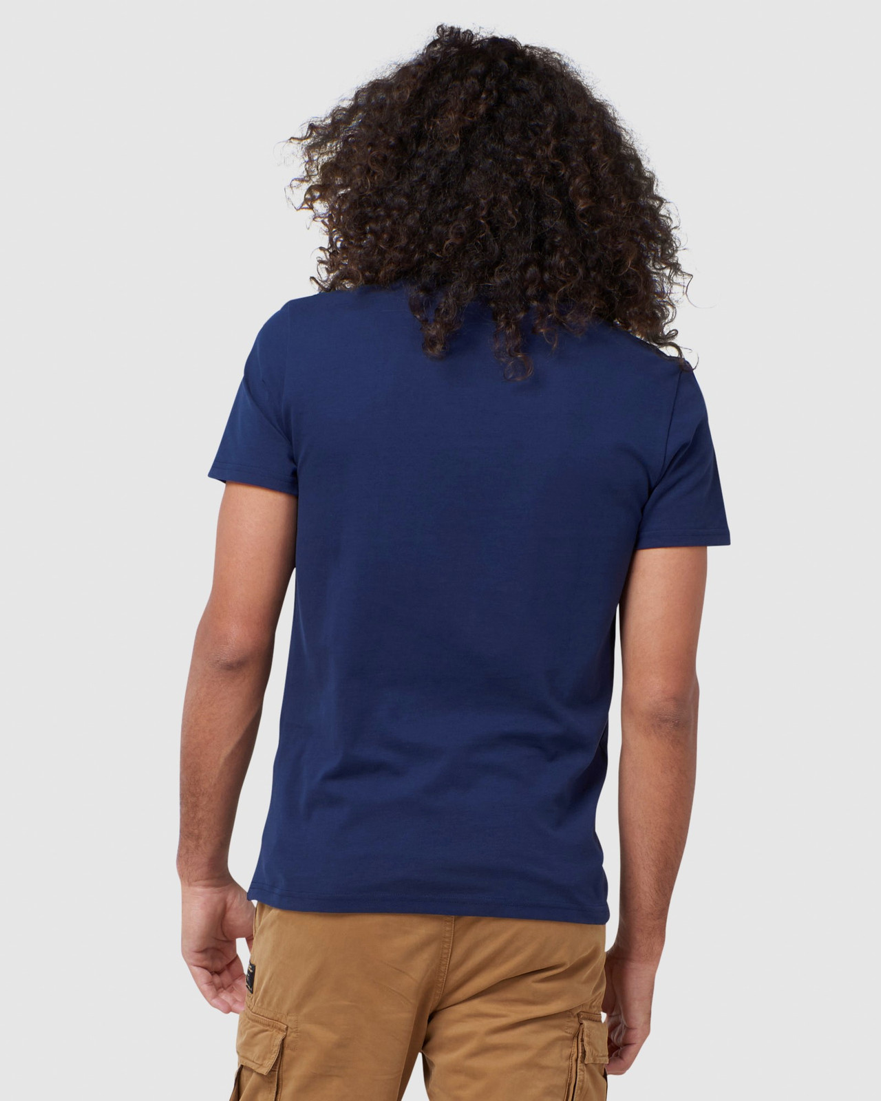 Superdry Mens EVEREST TEE Navy Printed T Shirts 3