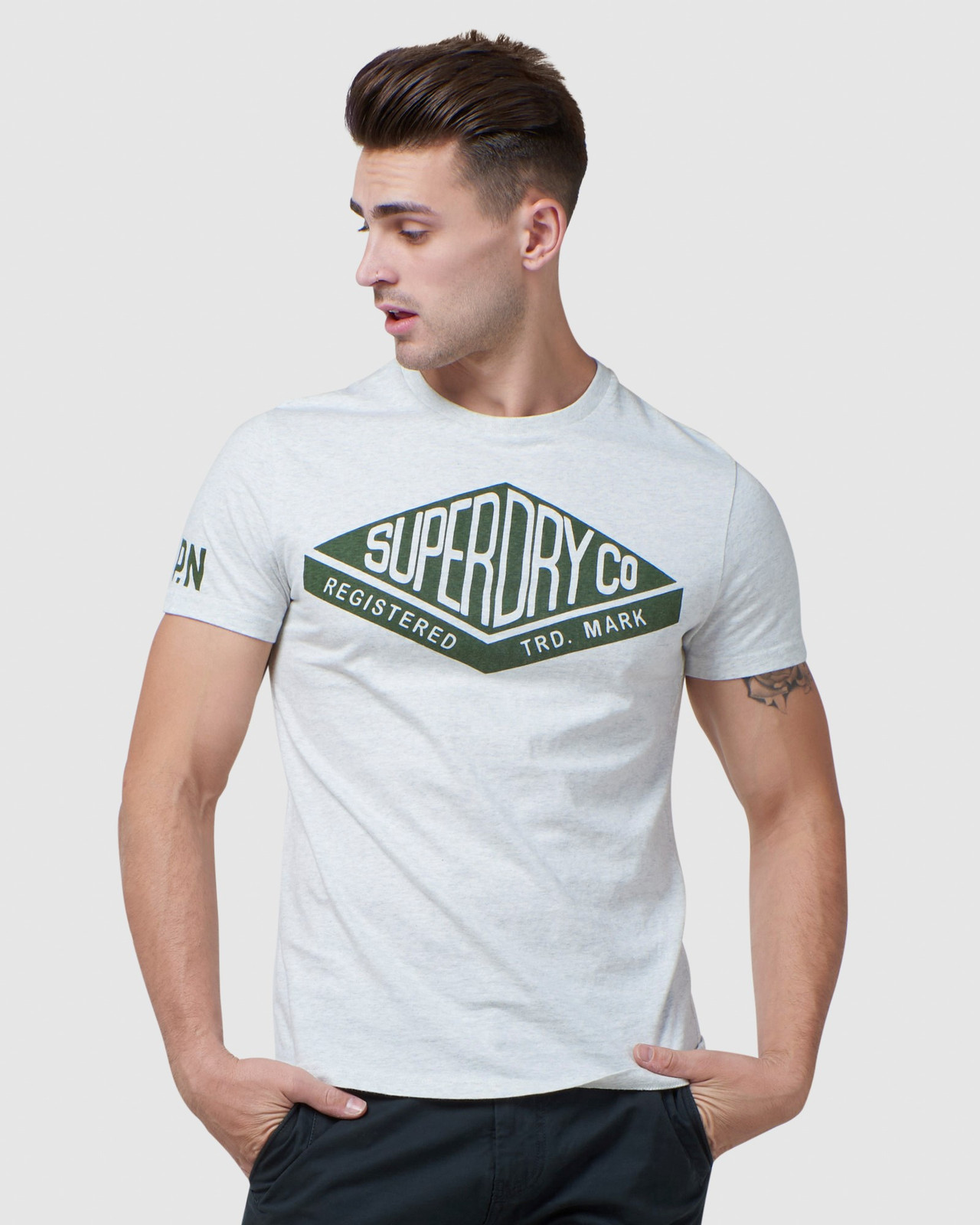 Superdry Mens COPPER LABEL TEE Printed T Shirts 0