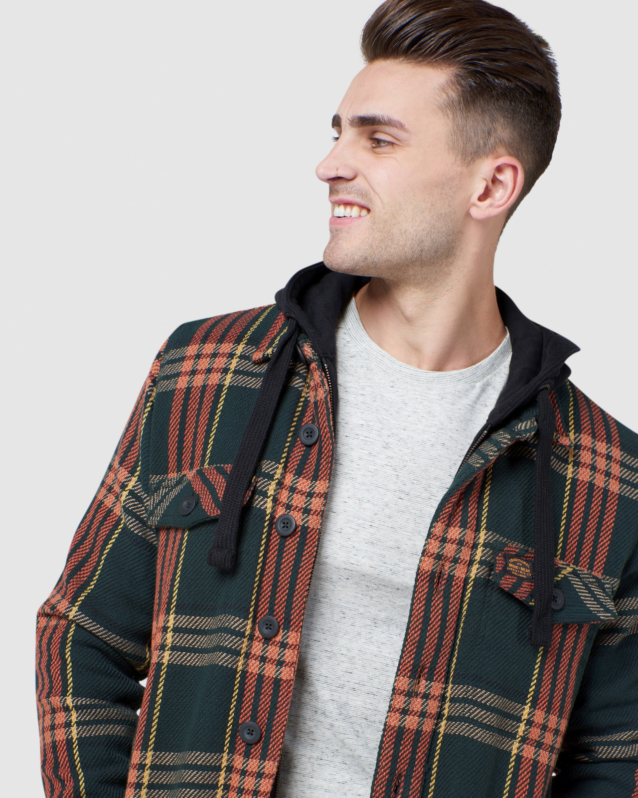 Superdry Mens EXPEDITION HOOD Green Casual Jackets 4