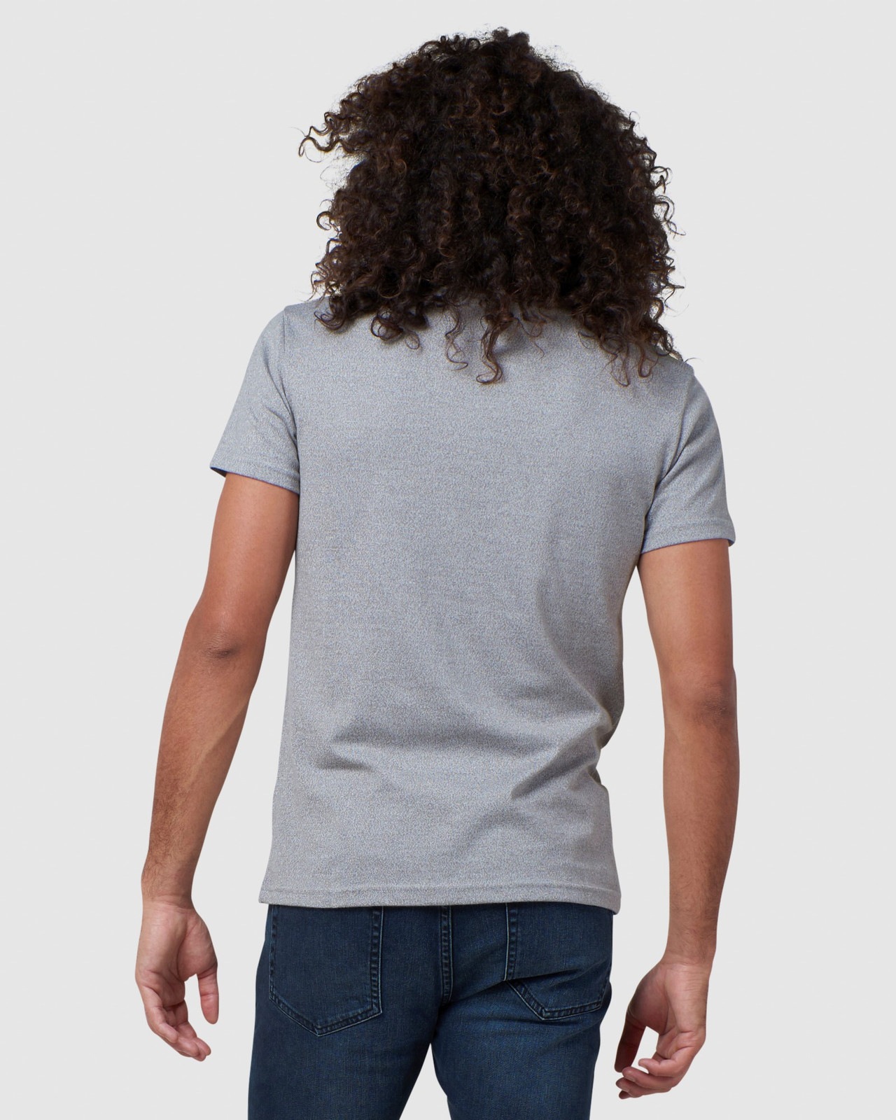Superdry Mens EVEREST TEE Grey Printed T Shirts 3