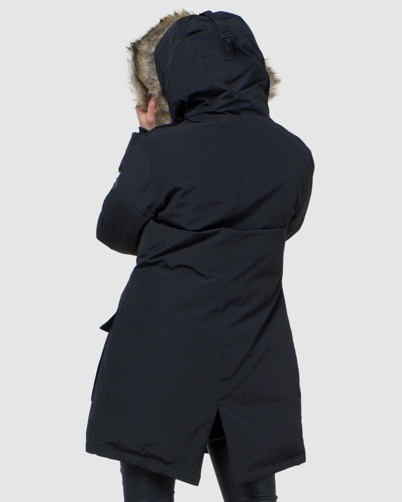 Superdry Womens ROOKIE DOWN PARKA Black Down Jackets 3