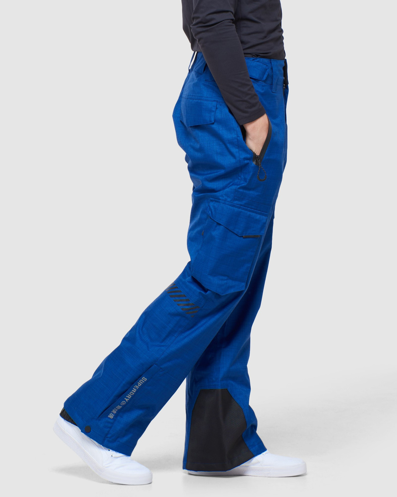 Superdry Mens ULTIMATE SNOW RESCUE PANT Blue Green Snow Pants 2