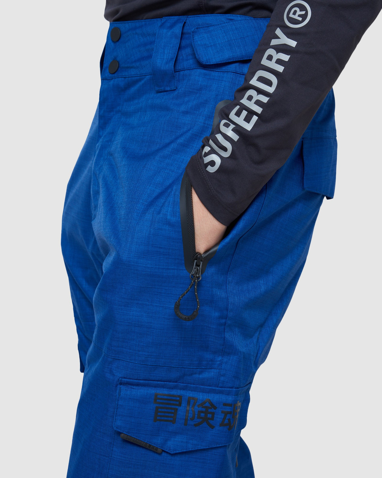 Superdry Mens ULTIMATE SNOW RESCUE PANT Blue Green Snow Pants 6