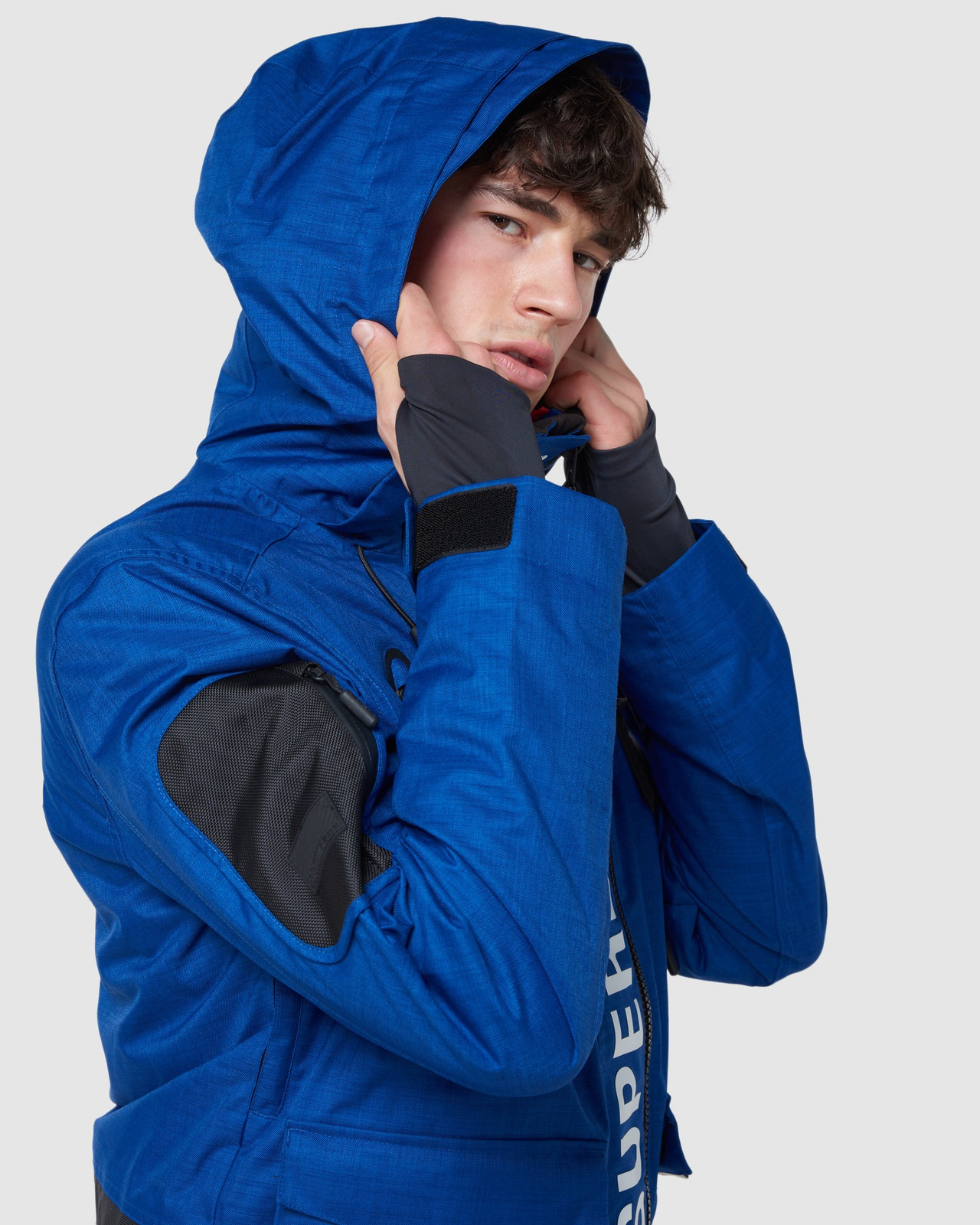 Superdry Mens ULTIMATE MOUNTAIN RESCUE JKT Blue Green Snow Jackets 4