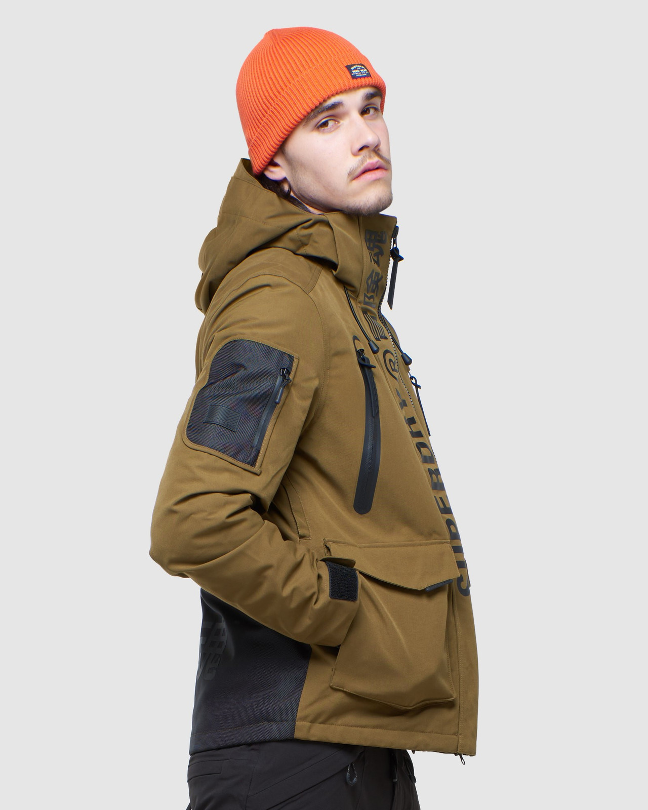 Superdry Mens ULTIMATE MOUNTAIN RESCUE JKT Blue Snow Jackets 2