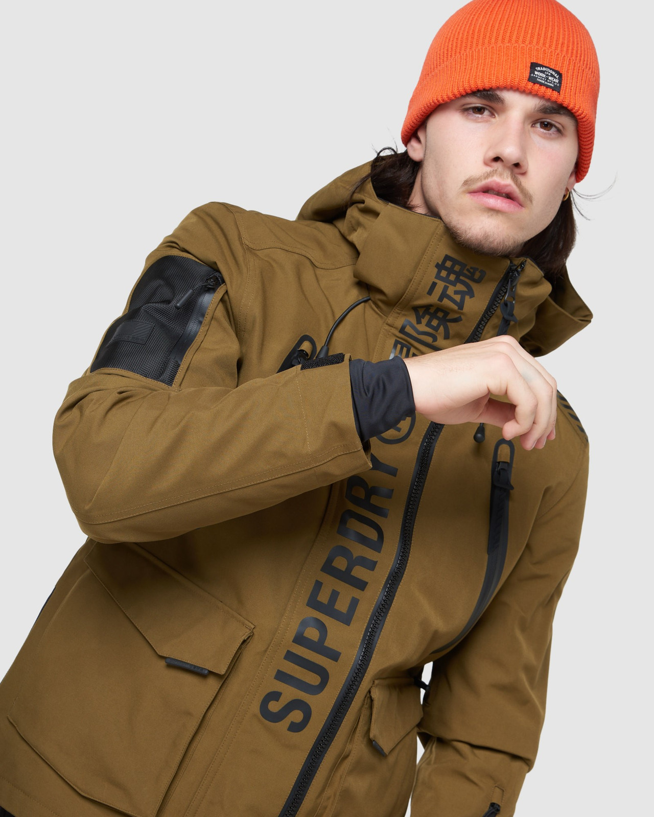 Superdry Mens ULTIMATE MOUNTAIN RESCUE JKT Blue Snow Jackets 4