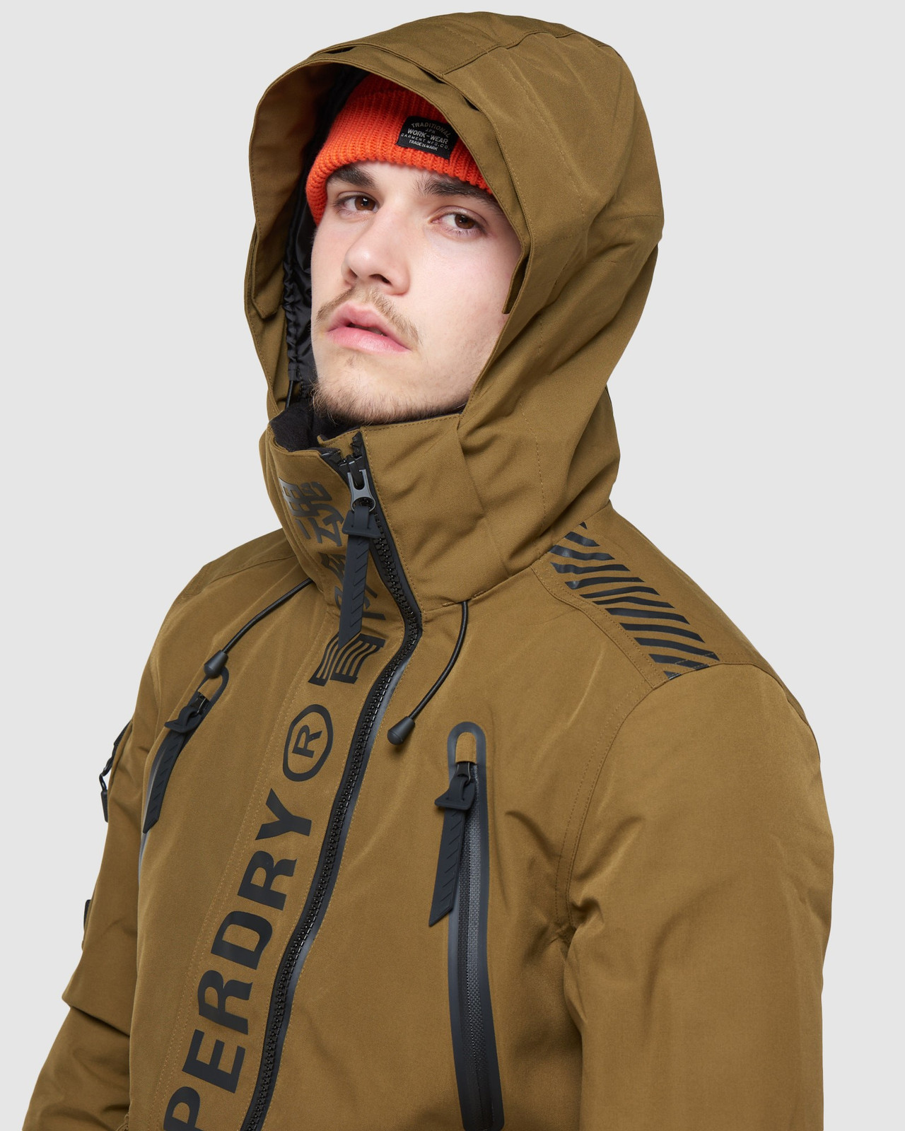 Superdry Mens ULTIMATE MOUNTAIN RESCUE JKT Blue Snow Jackets 5