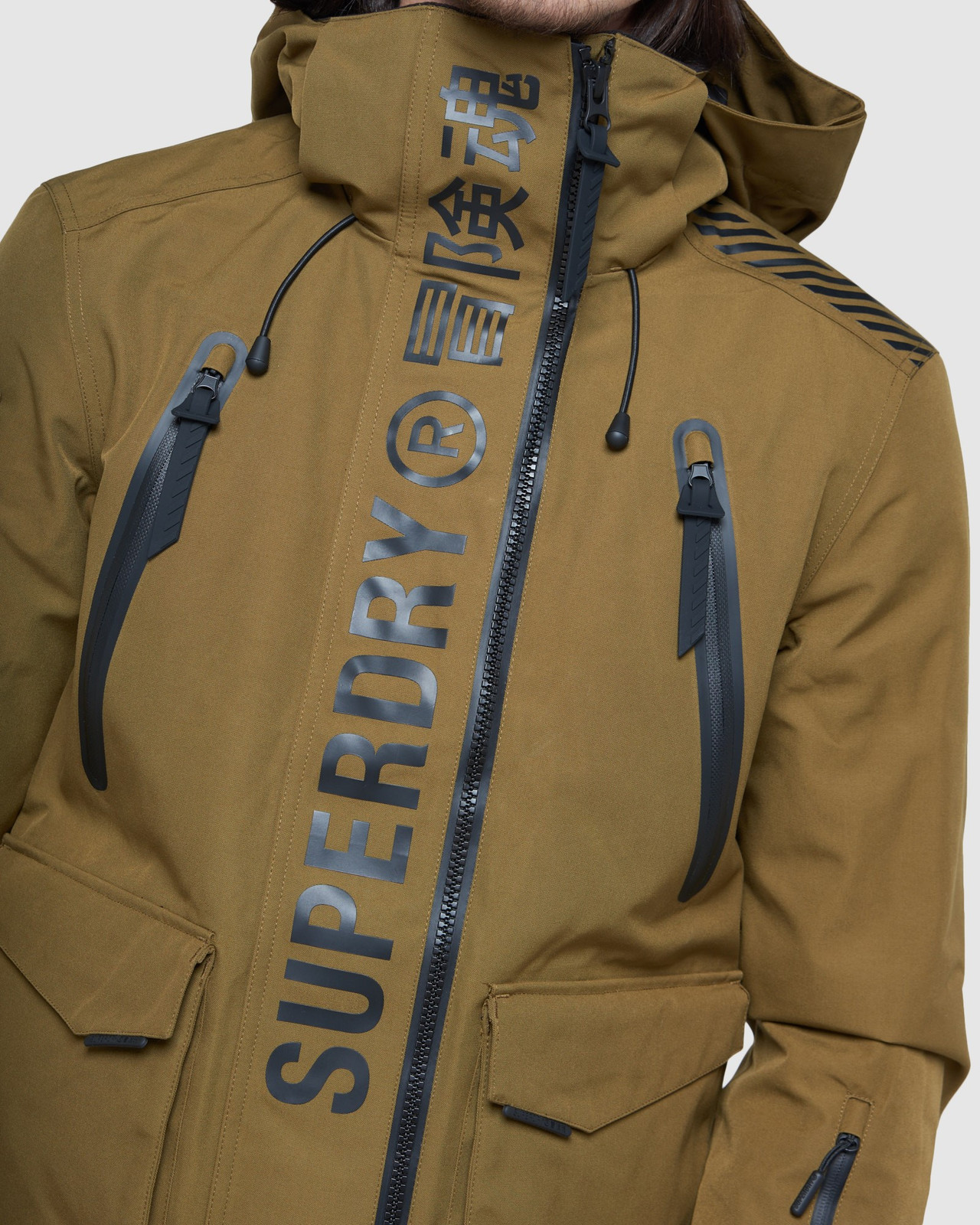Superdry Mens ULTIMATE MOUNTAIN RESCUE JKT Blue Snow Jackets 6