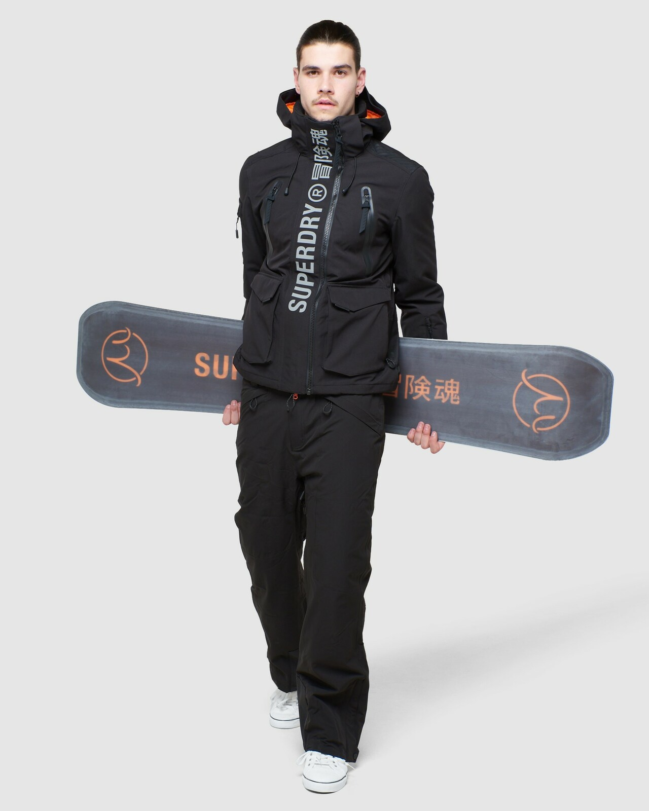 Superdry Mens ULTIMATE MOUNTAIN RESCUE JKT Black Snow Jackets 4