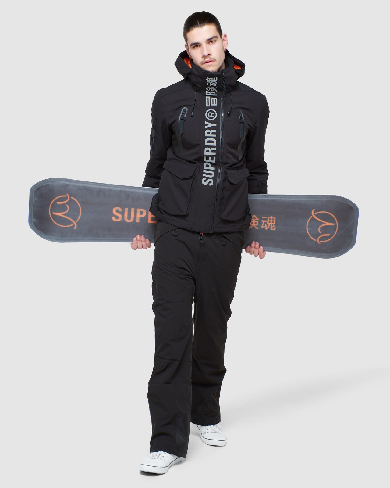 Superdry Mens ULTIMATE MOUNTAIN RESCUE JKT Black Snow Jackets 5