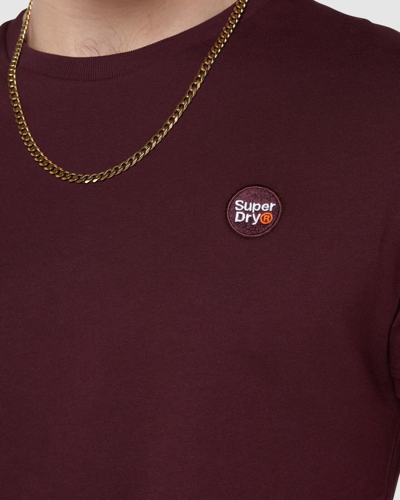 Superdry Mens COLLECTIVE TEE Purple Plain 5