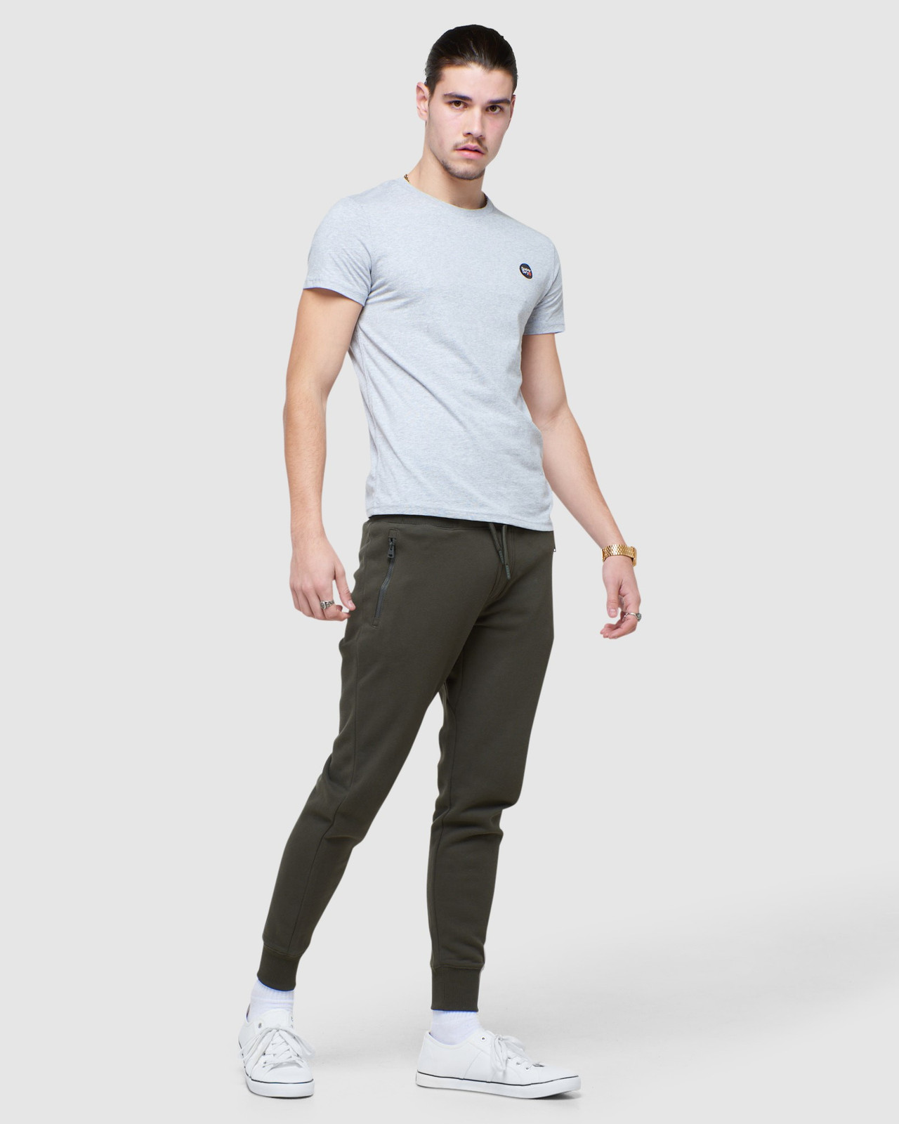Superdry Mens COLLECTIVE JOGGER Grey Joggers 1