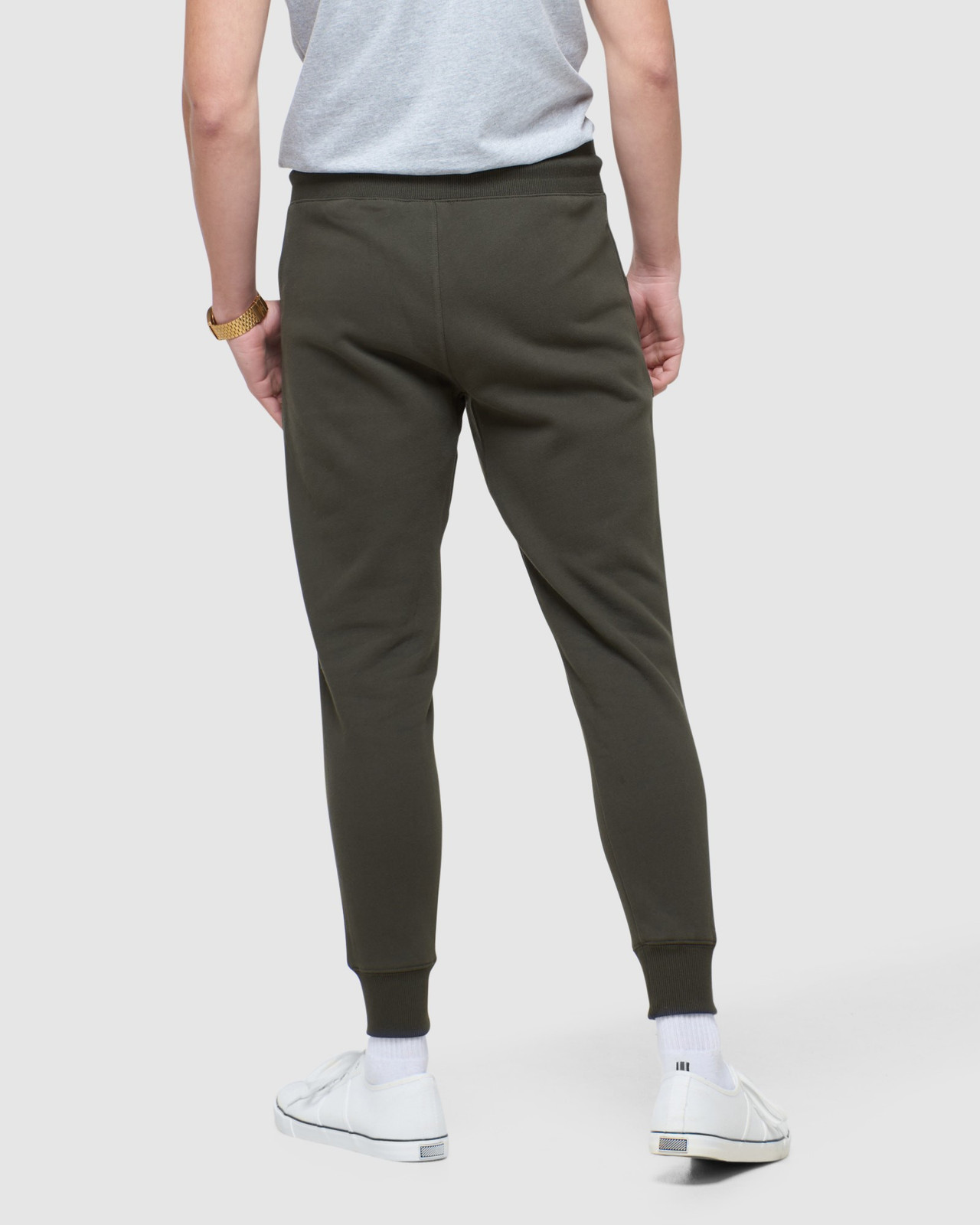 Superdry Mens COLLECTIVE JOGGER Grey Joggers 3