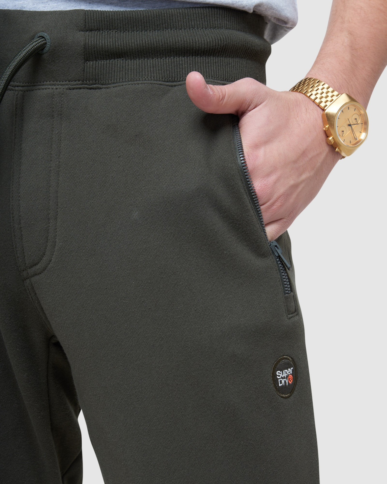 Superdry Mens COLLECTIVE JOGGER Grey Joggers 5
